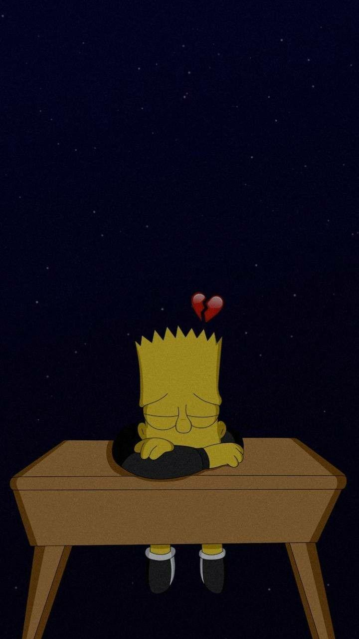 Sad The Simpsons Tumblr Wallpapers Wallpaper Cave