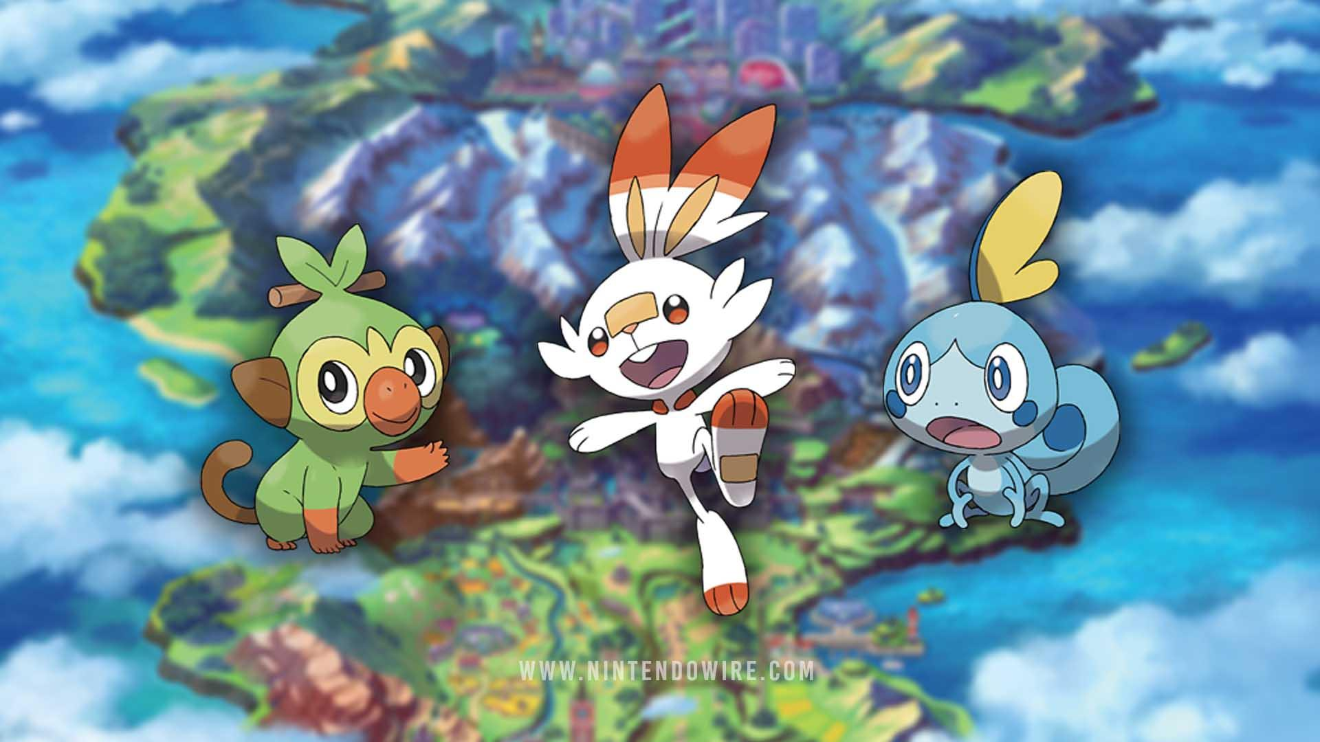 Pokemon Sword And Shield Starter Evolutions Wallpapers ...