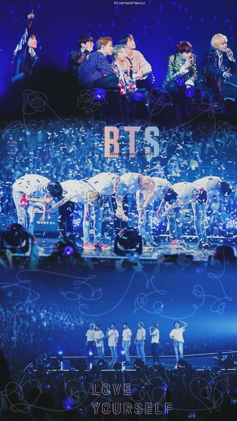 BTS Aesthetic Stage Group Wallpapers - Wallpaper Cave