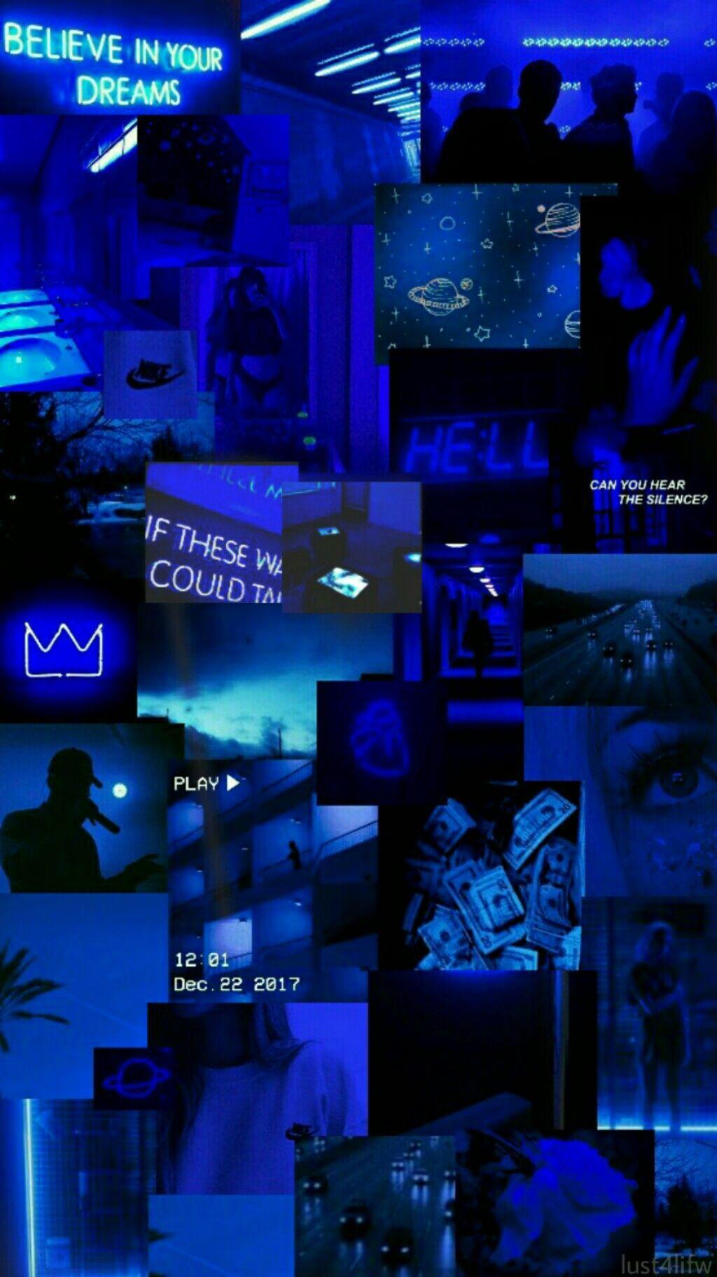 Dark Blue Aesthetic Wallpapers Wallpaper Cave