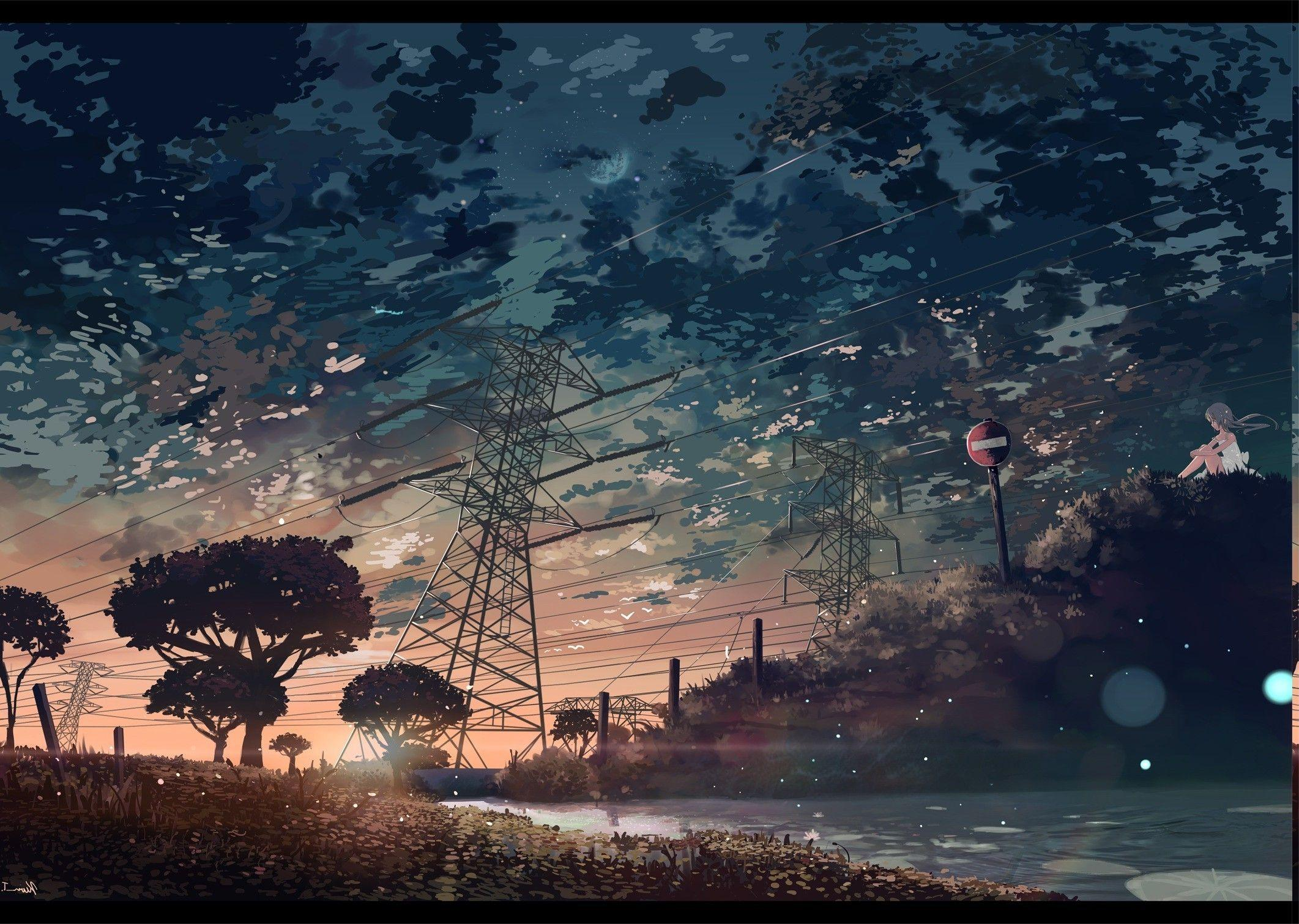 Anime Aesthetic Backgrounds