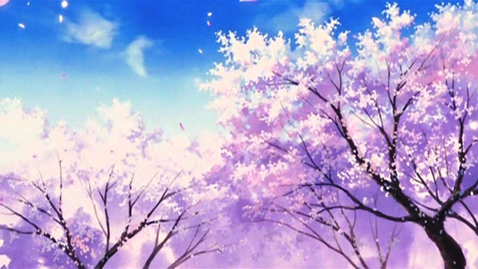 Anime Spring Hd Wallpapers Wallpaper Cave