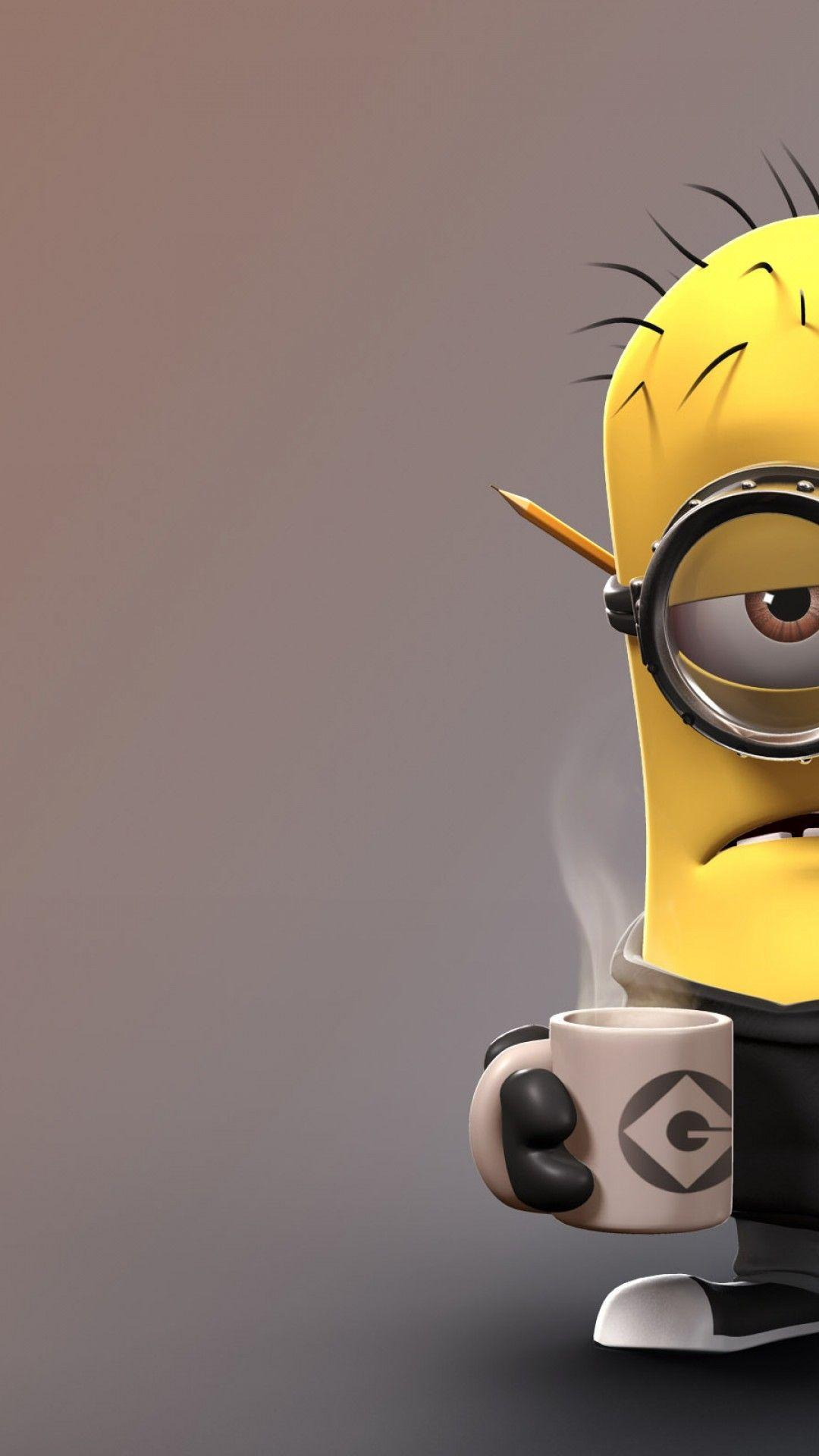 Iphone Minions Wallpapers Wallpaper Cave