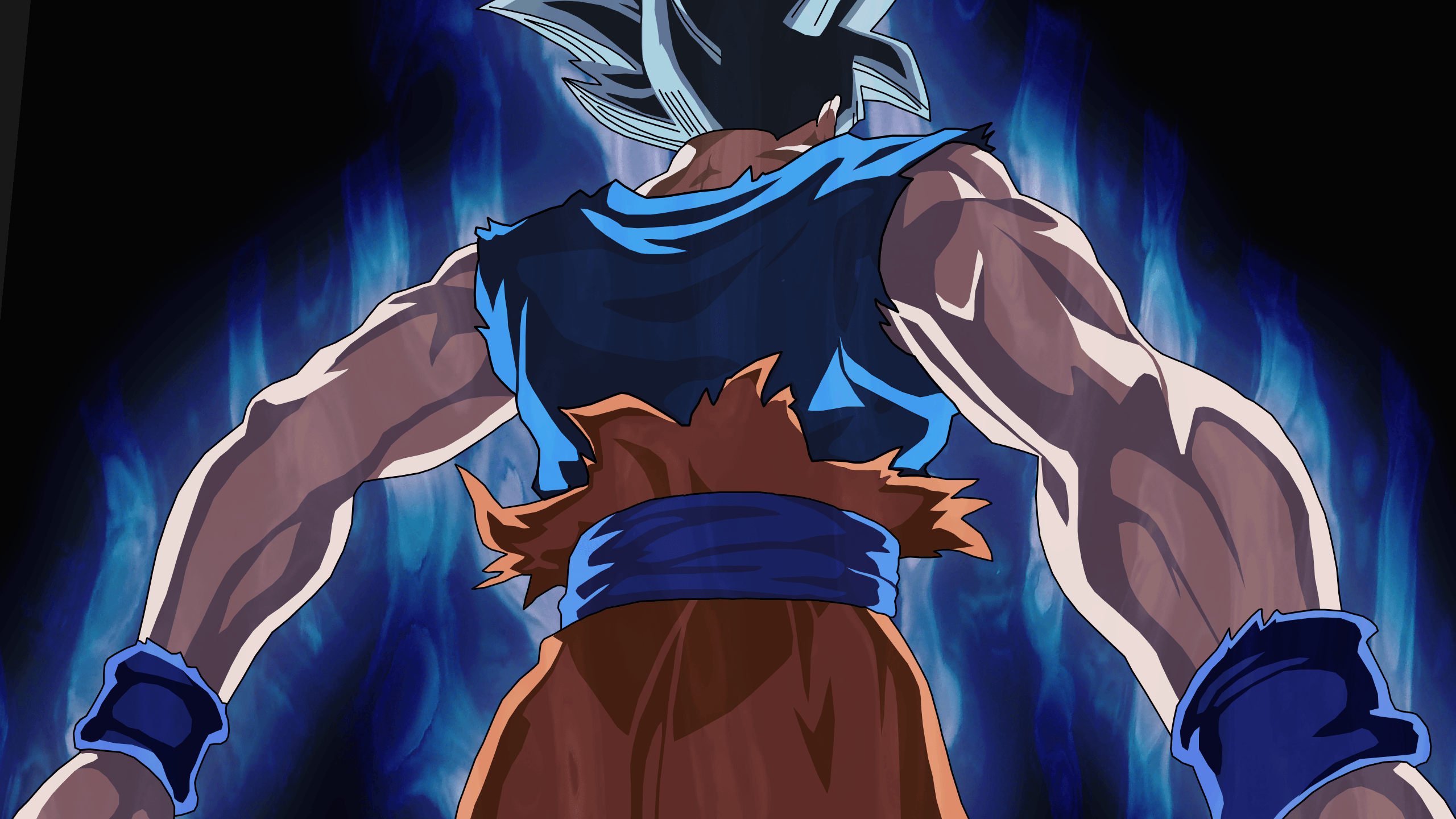 Aesthetic Ui Goku Wallpapers Wallpaper Cave