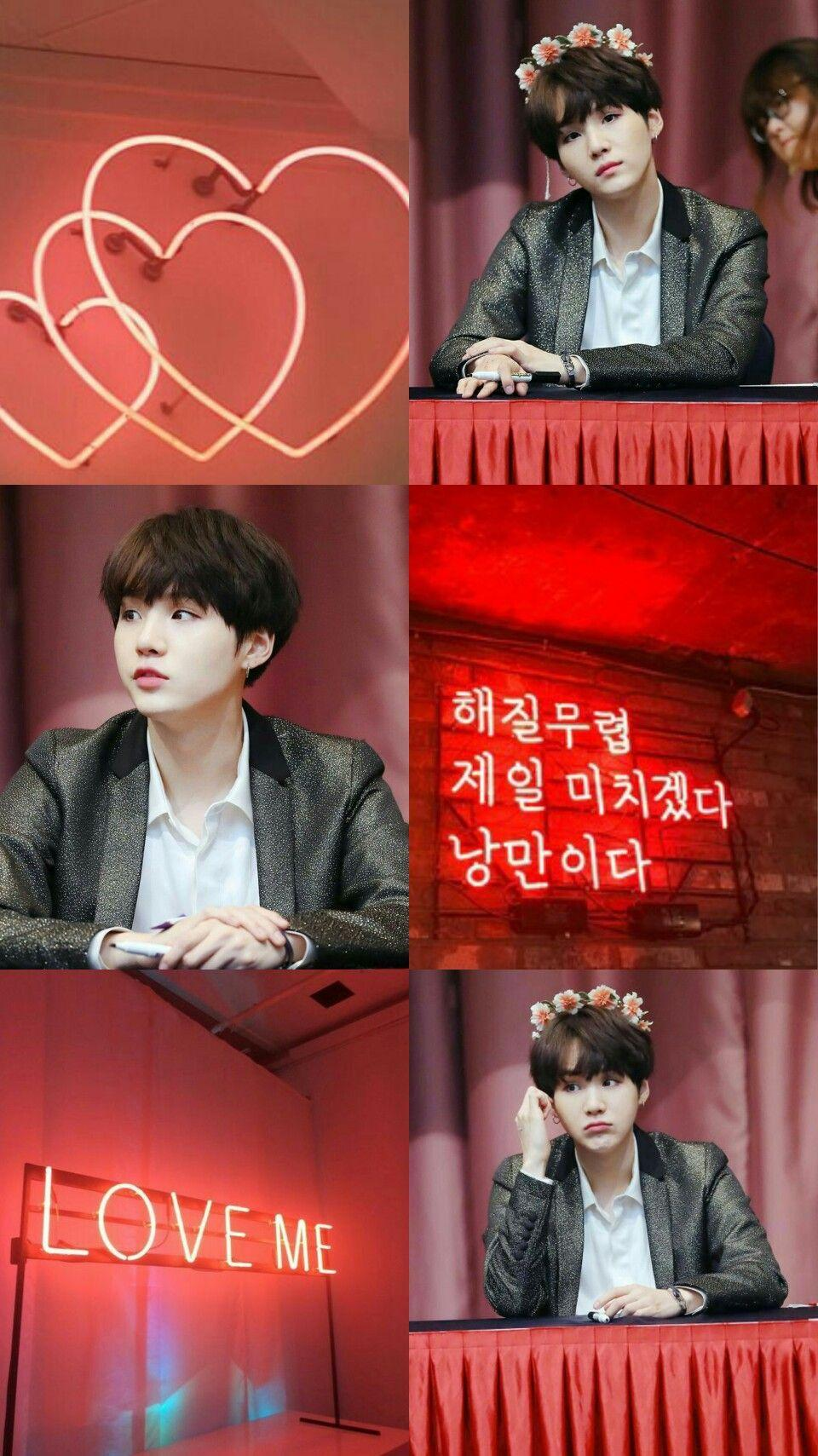 BTS Red Aesthetic Wallpapers - Wallpaper Cave