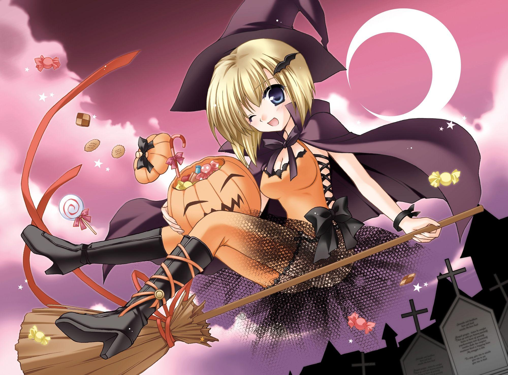 Anime Halloween HD Wallpapers and Backgrounds