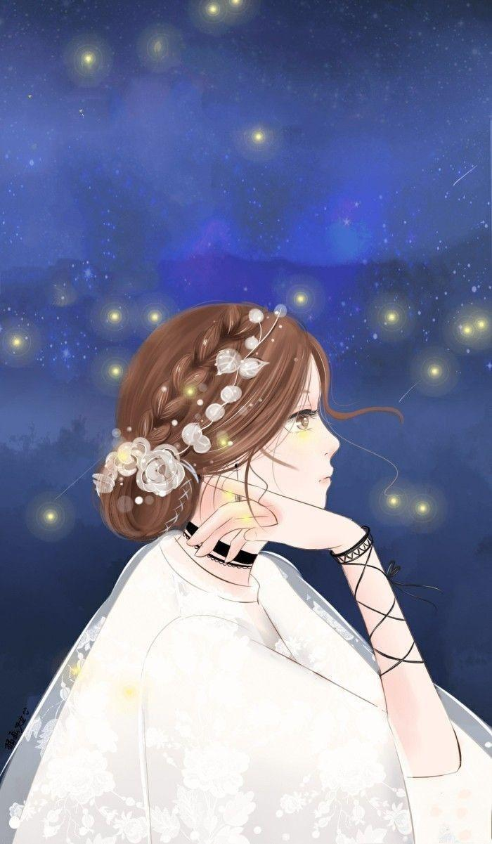 Aesthetic Anime Girls Wallpapers - Wallpaper Cave