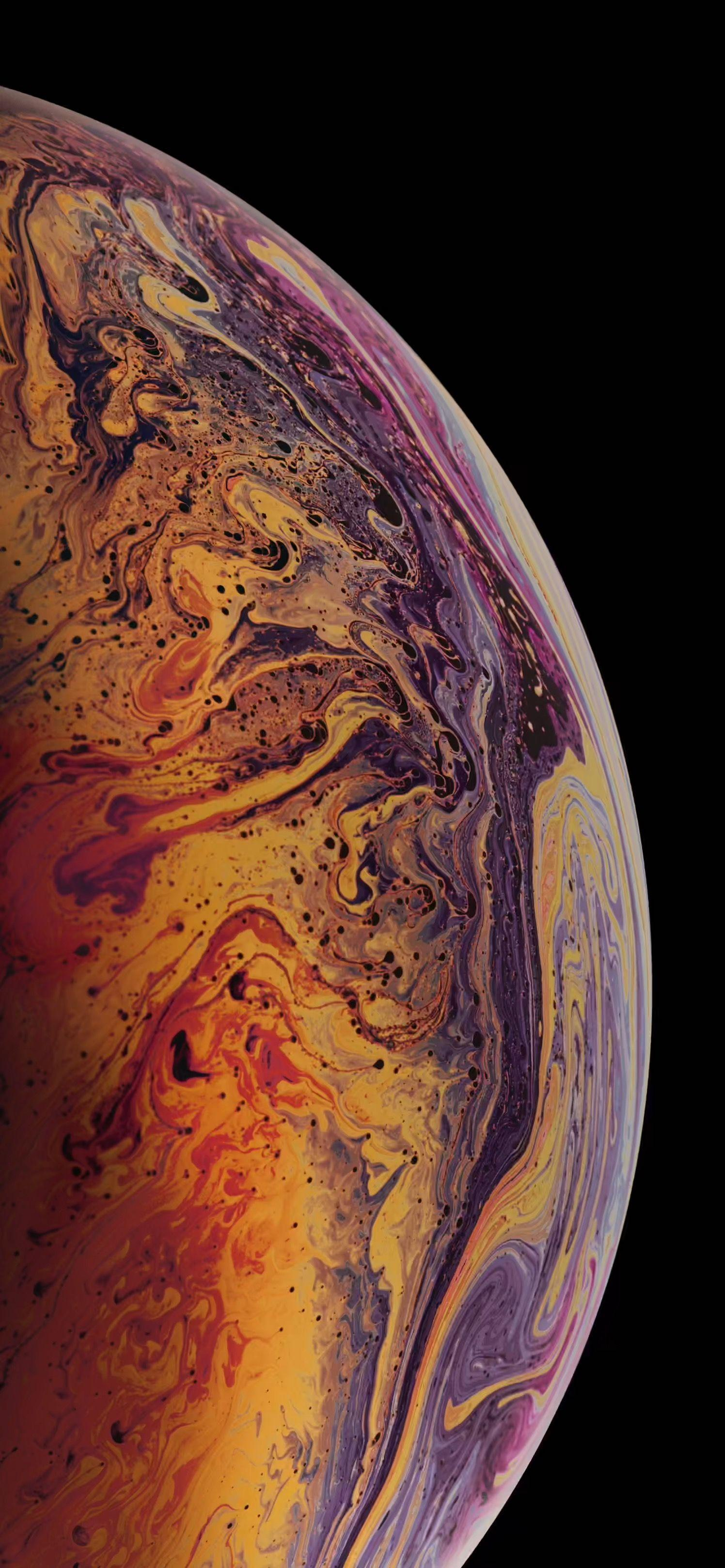 iPhone X Planets Wallpapers - Wallpaper