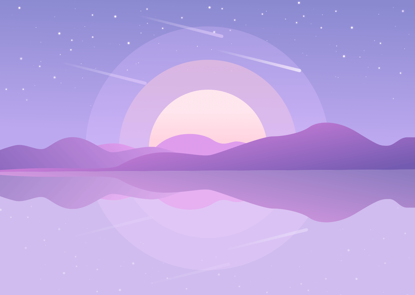 Purple Aesthetics Computer Wallpapers