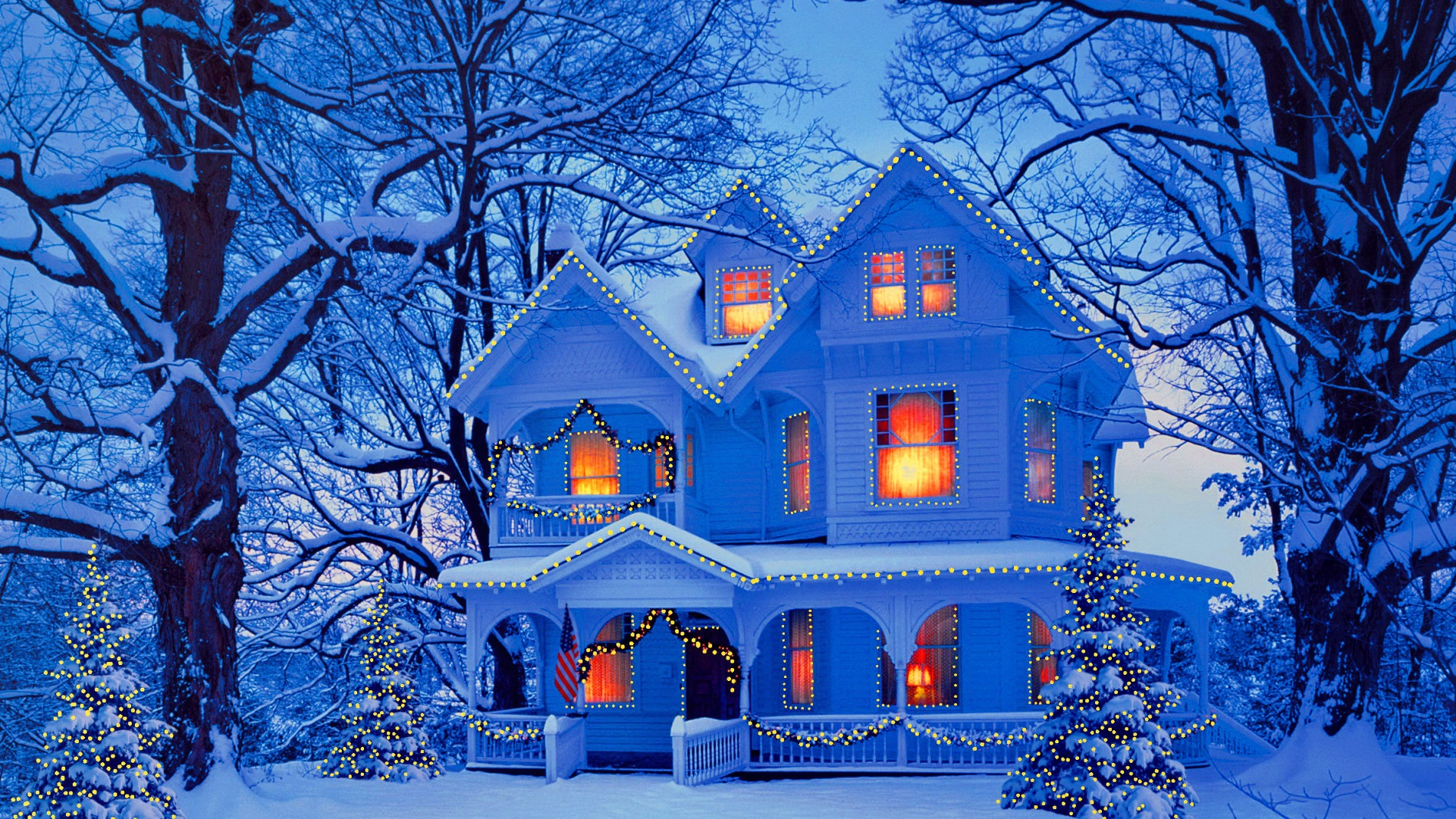 Winter Home Wallpapers Wallpaper Cave