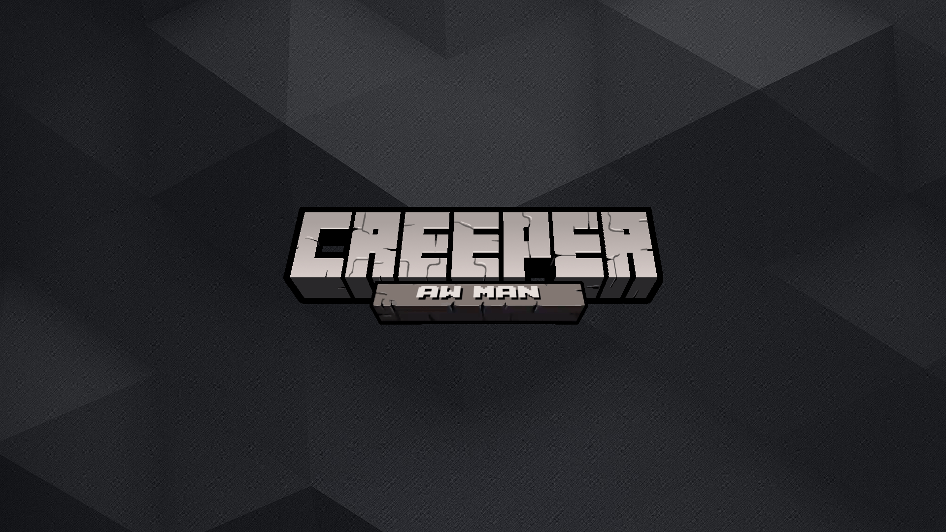 Minecraft Wallpaper Creeper Aww Man