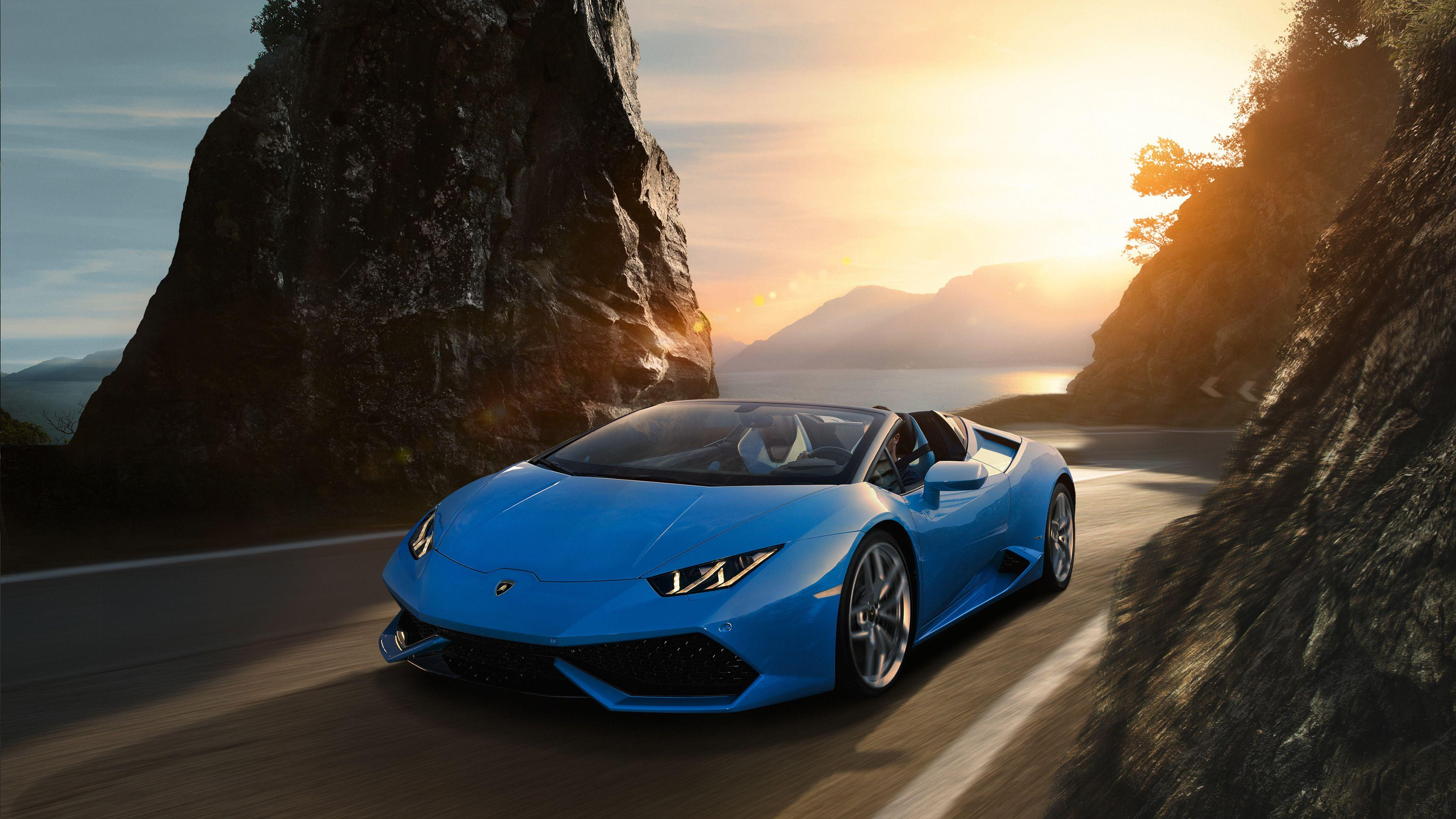 Sky Blue Lamborghini Wallpapers Wallpaper Cave