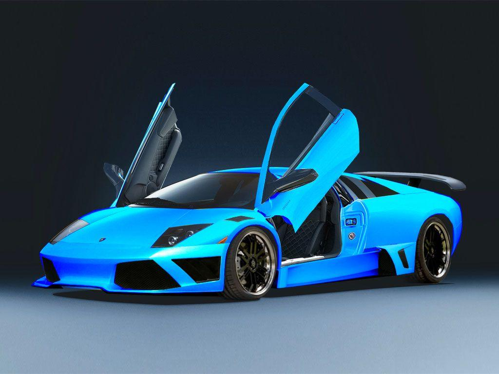 Sky Blue Lamborghini Wallpapers Wallpaper Cave