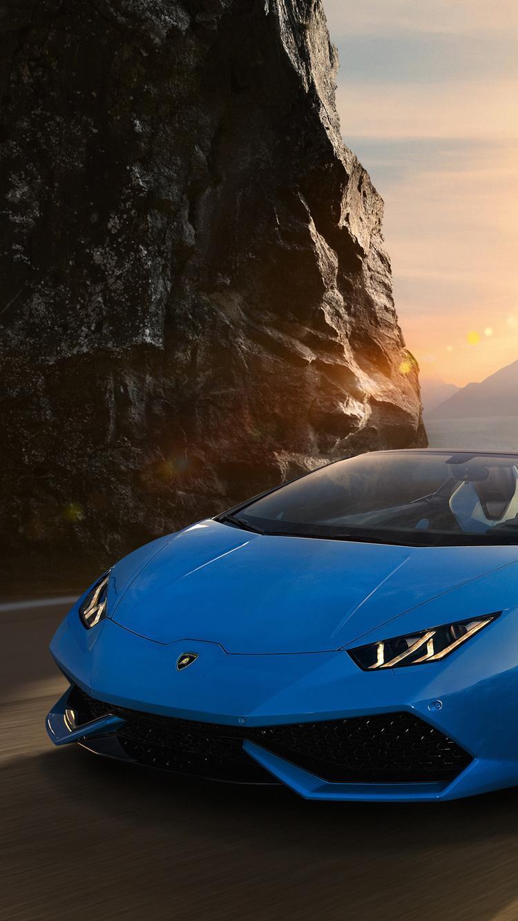 Sky Blue Lamborghini Wallpapers - Wallpaper Cave