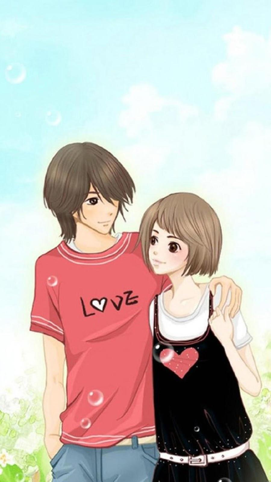 Cute Hd Anime Couple Dp Wallpapers Wallpaper Cave