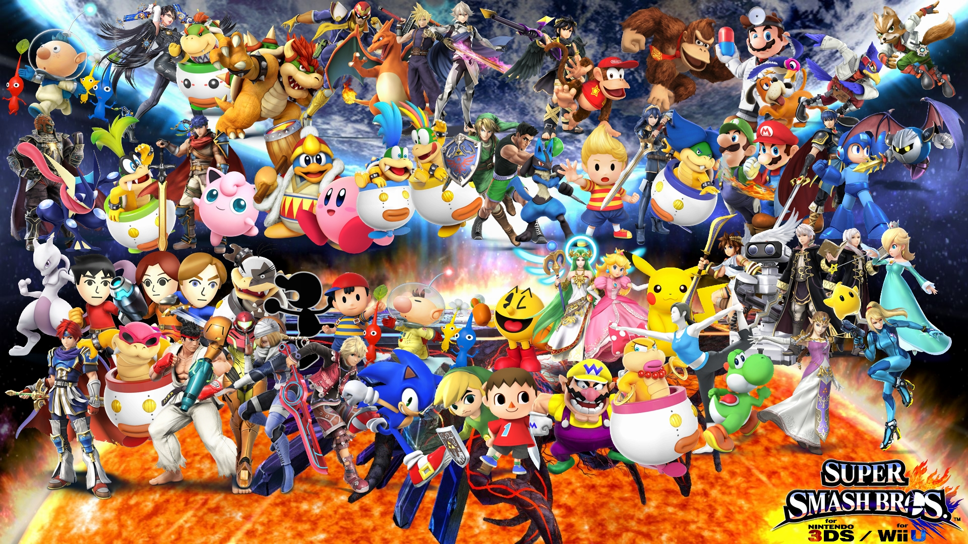 Super Smash Flash Wallpapers Wallpaper Cave