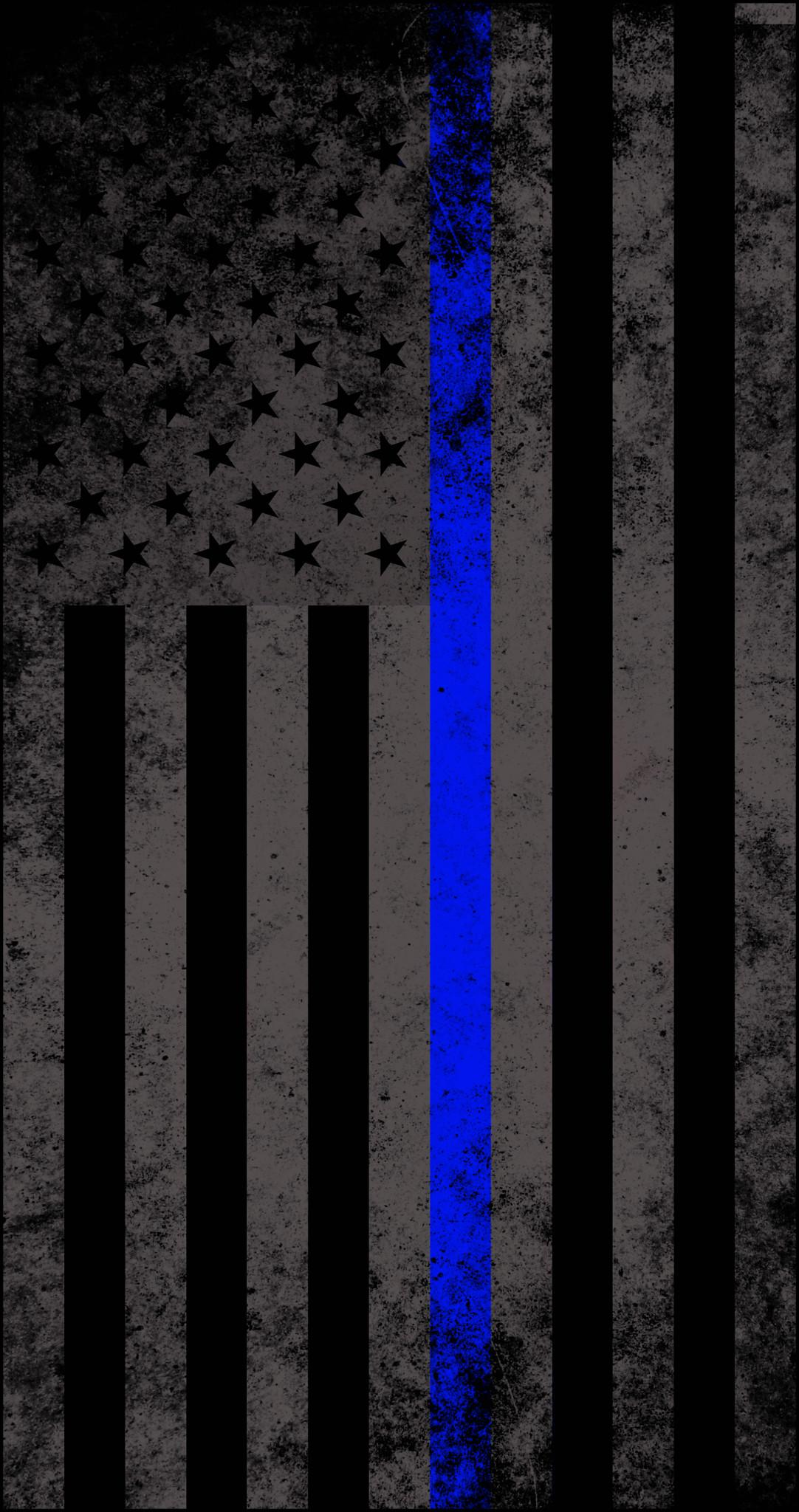 Thin Blue Line Flag Wallpapers - Wallpaper Cave