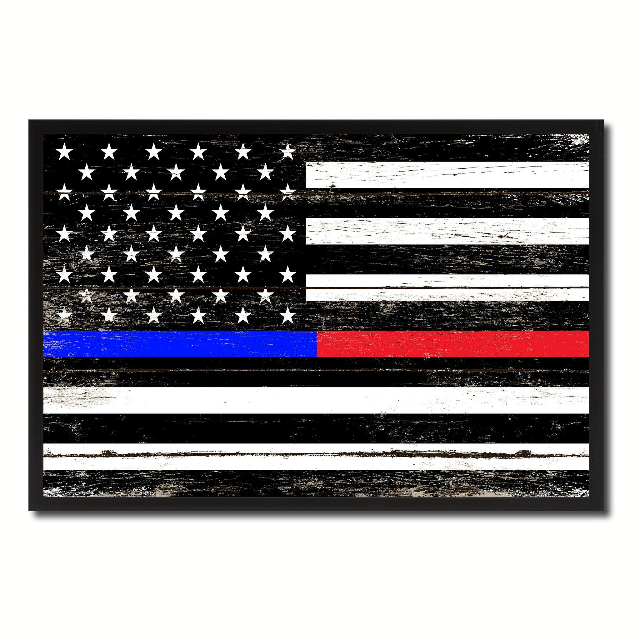 Thin Blue And Red Line Flag Wallpaper About Flag Collections