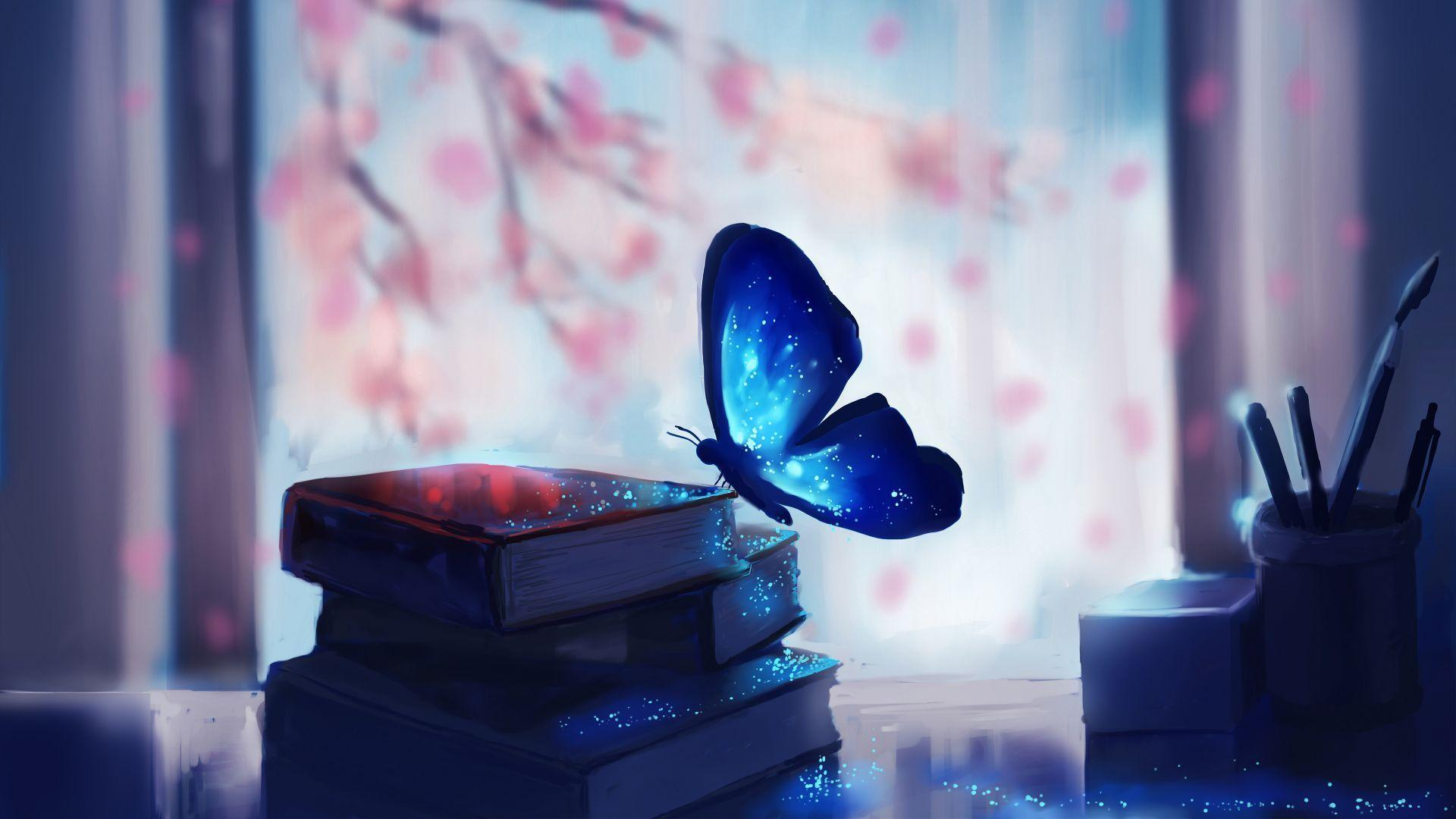 Aesthetic Butterfly Horizontal Wallpapers Wallpaper Cave