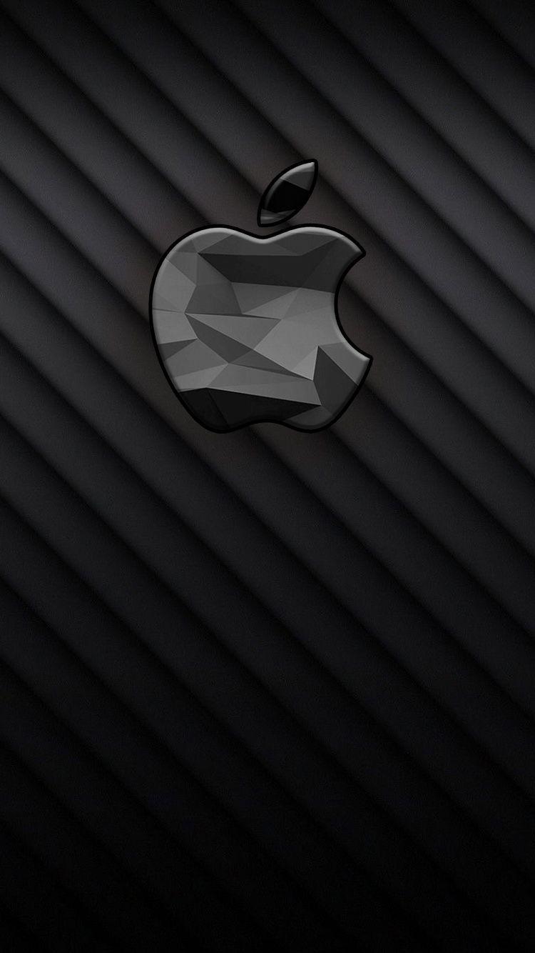 Iphone Black Apple Wallpapers Wallpaper Cave