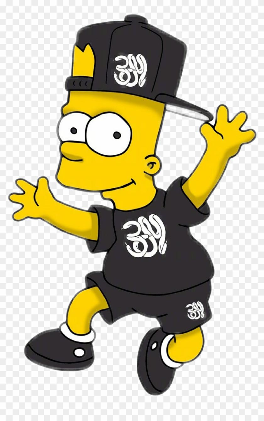 Lacoste Fond Decran Bart Simpson