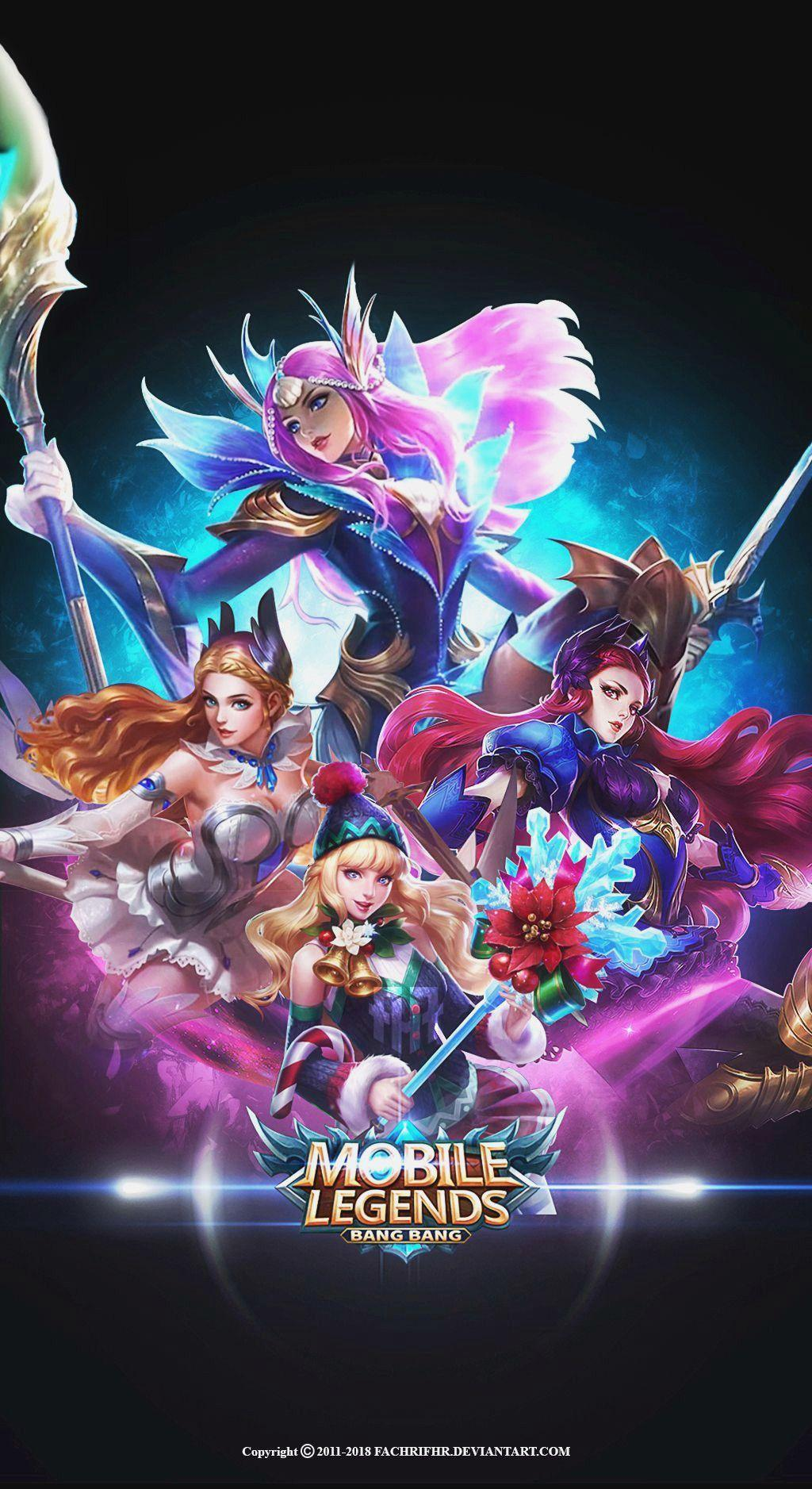 Mobile Legends Hd New Skin Wallpapers Wallpaper Cave