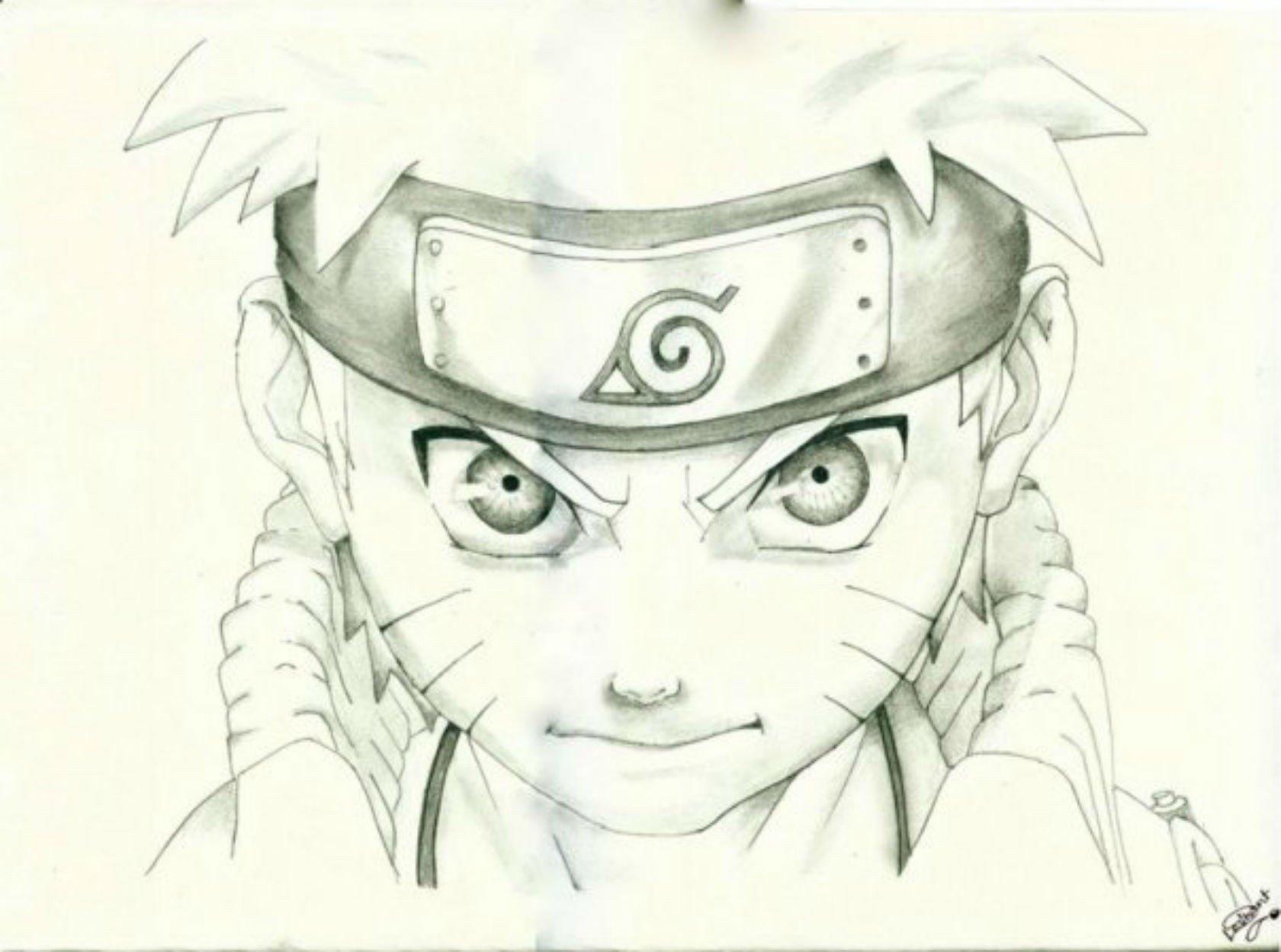 Naruto Drawings Wallpapers - Wallpaper Cave