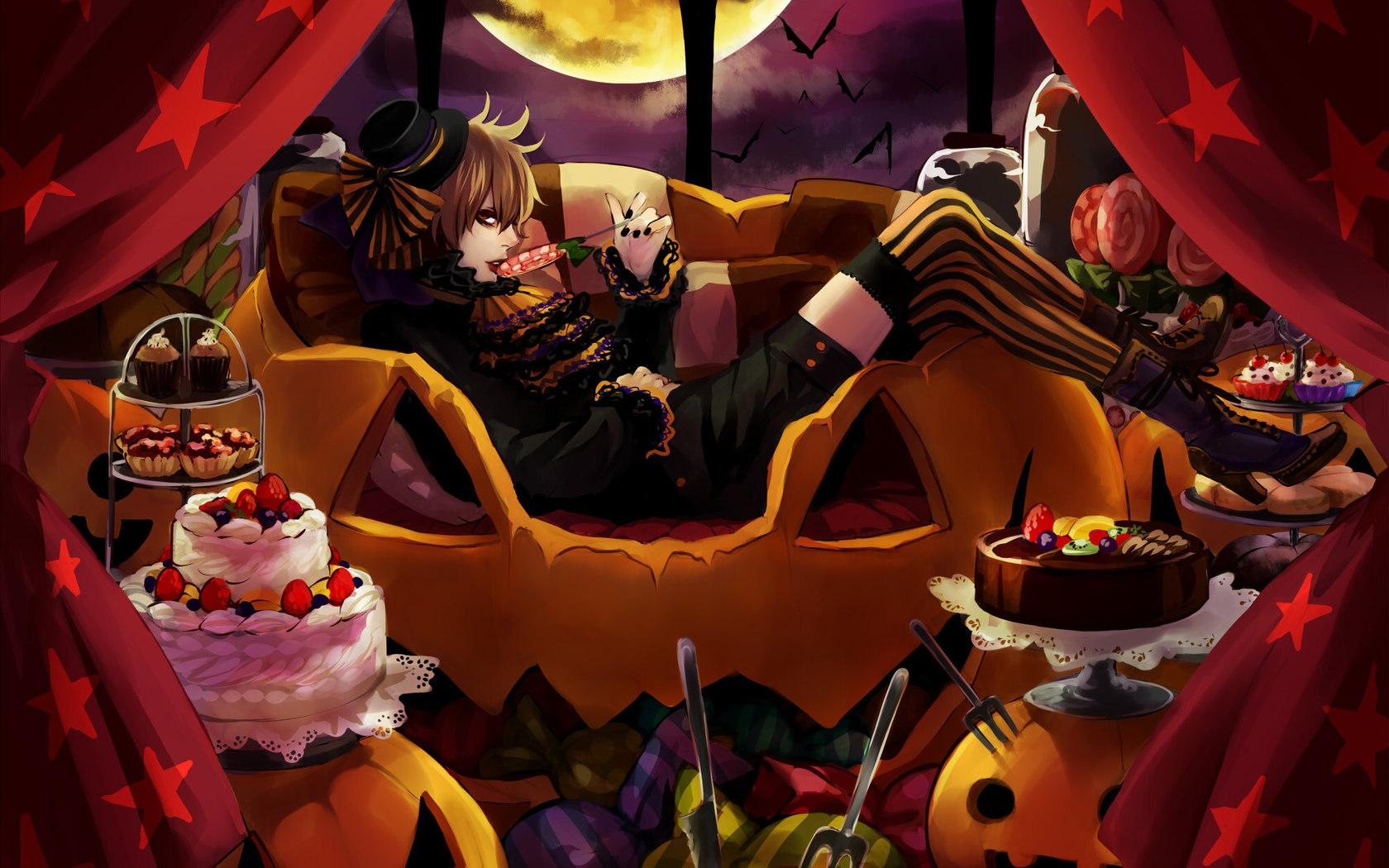 Anime Halloween Night Image Wallpapers
