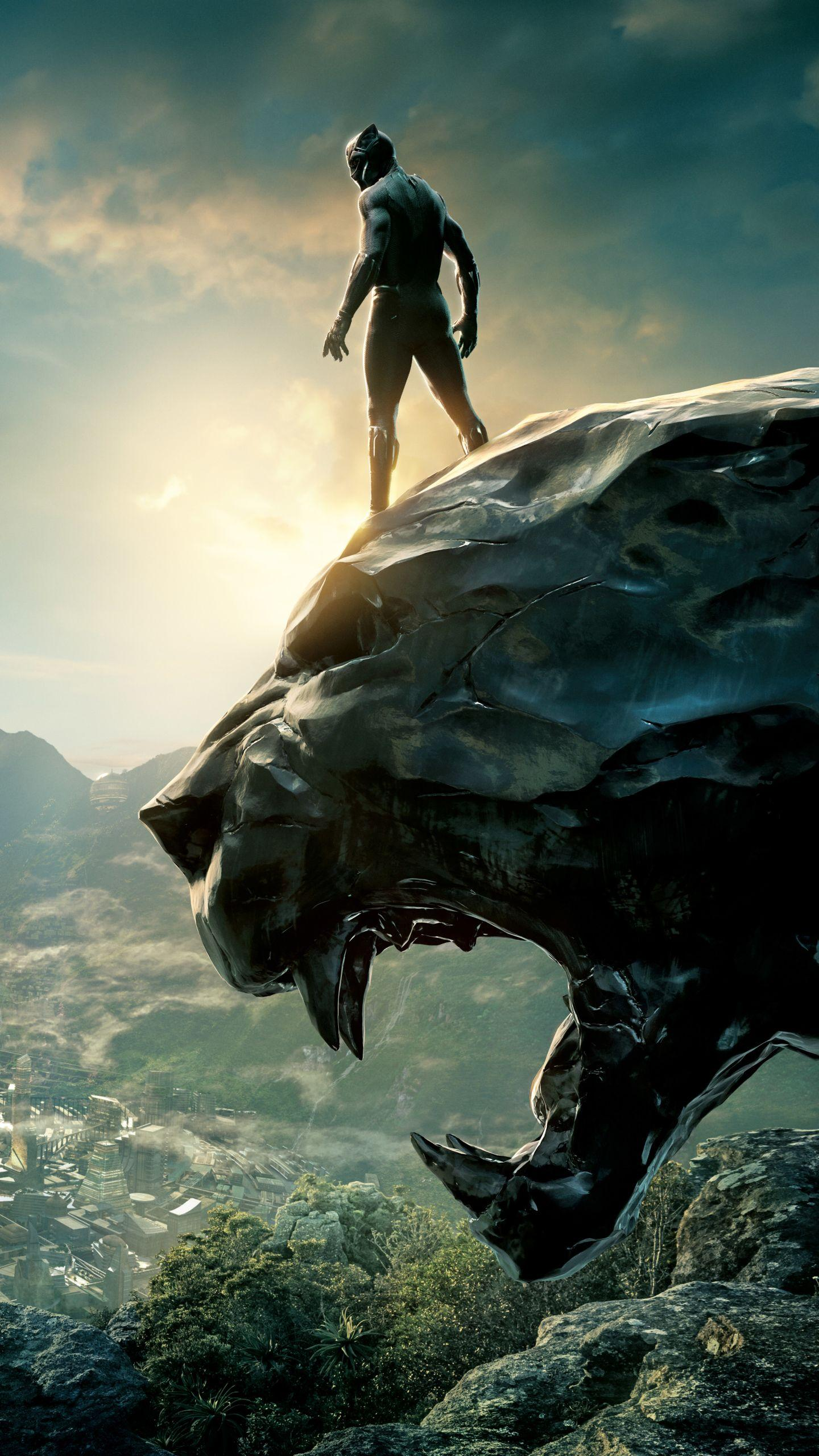 Black Panther Iphone Wallpapers Wallpaper Cave
