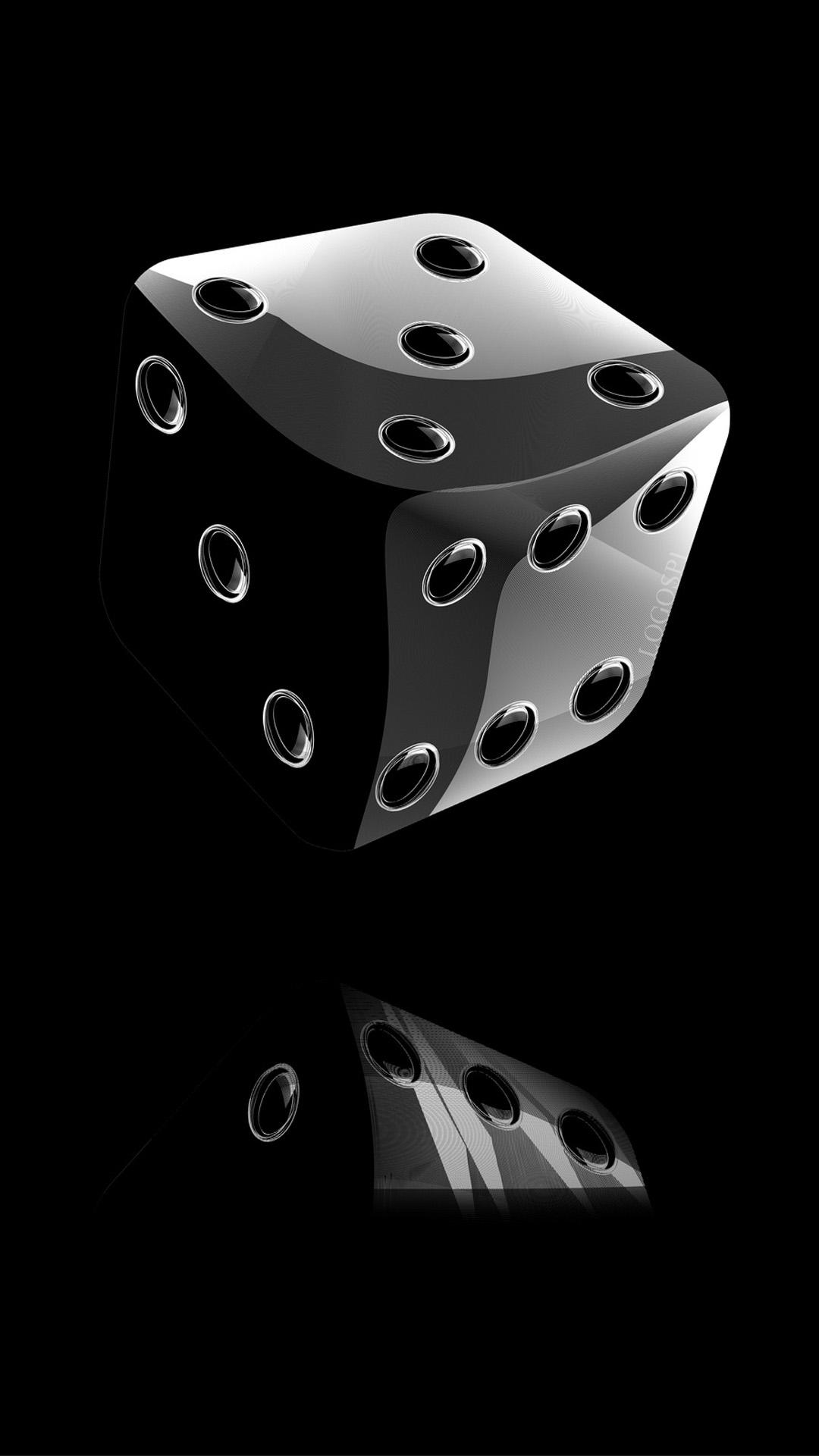3d Black Cubes Iphone Wallpapers Wallpaper Cave