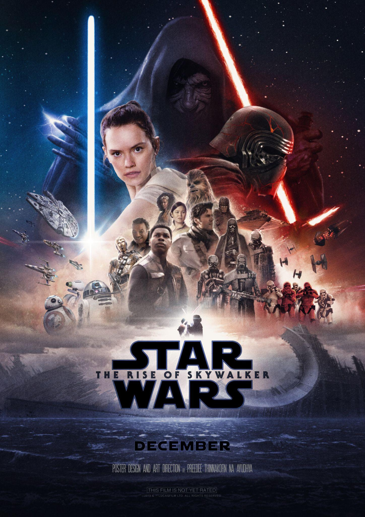 Star Wars The Rise Of Skywalker Movie 2019 Wallpapers Wallpaper Cave