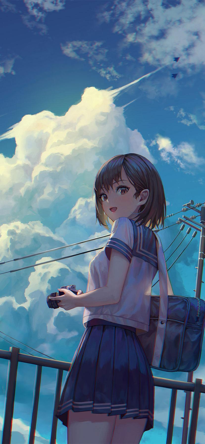 Anime Girl 2019 Wallpapers Wallpaper Cave