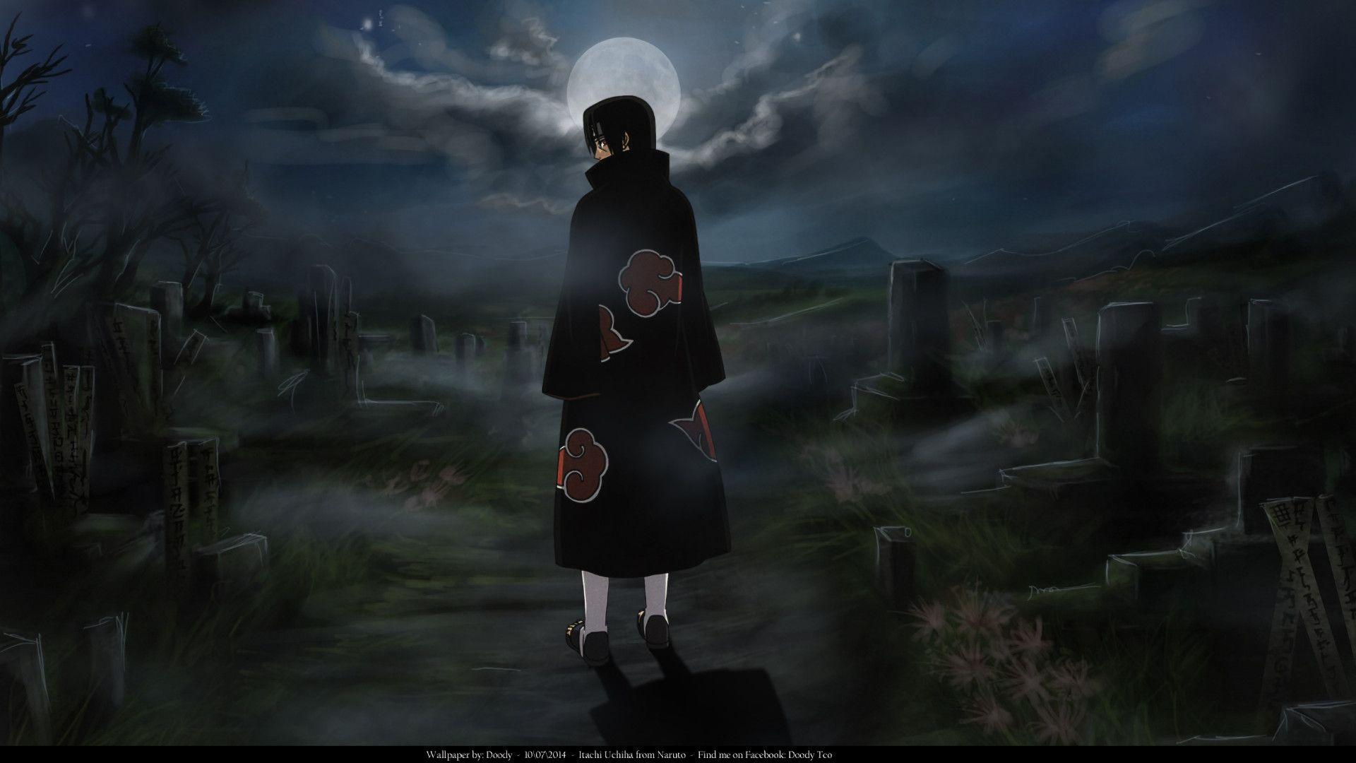 Itachi Aesthetic Desktop Wallpapers Wallpaper Cave