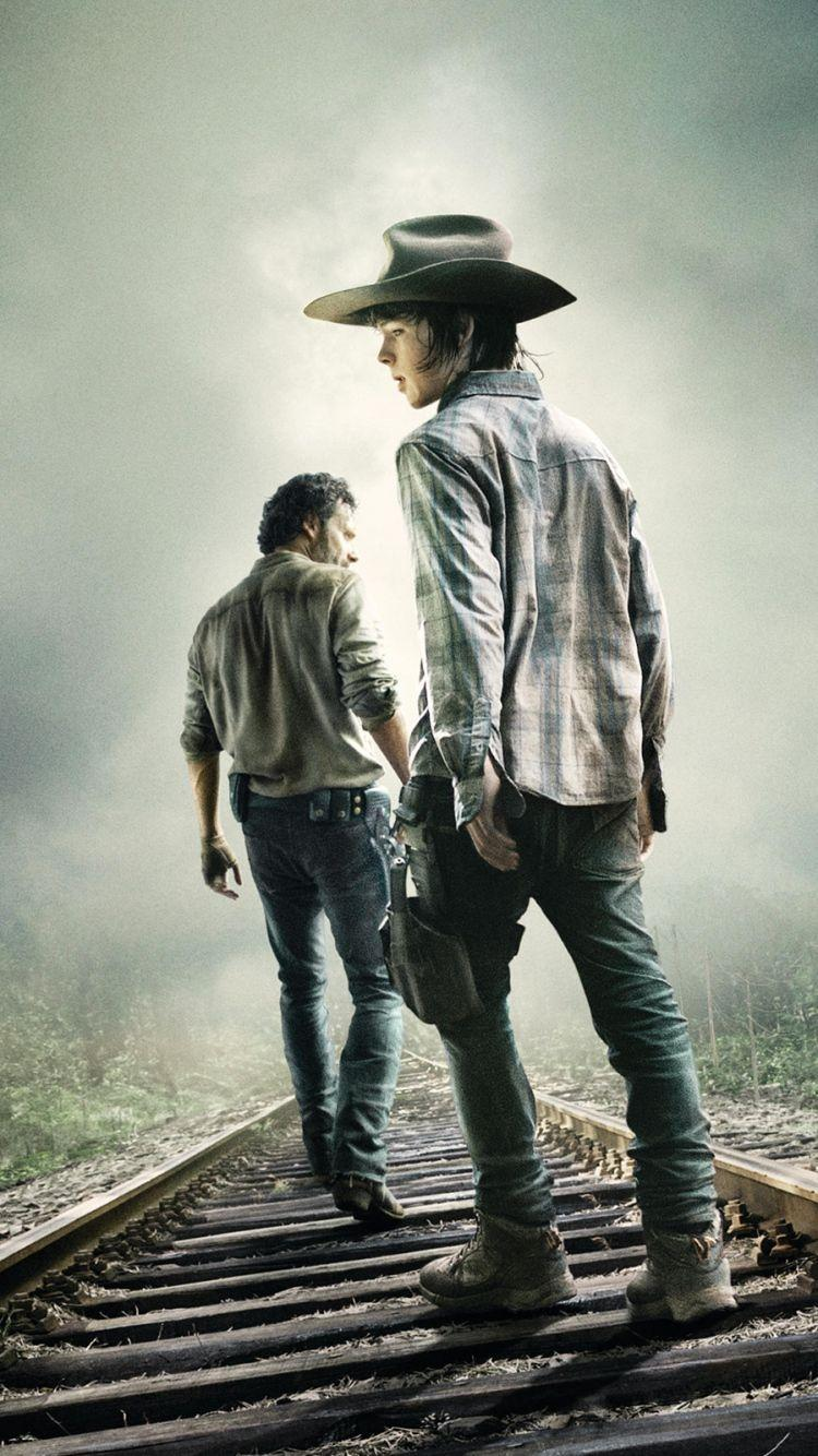 The Walking Dead Mobile Phone Wallpapers Wallpaper Cave