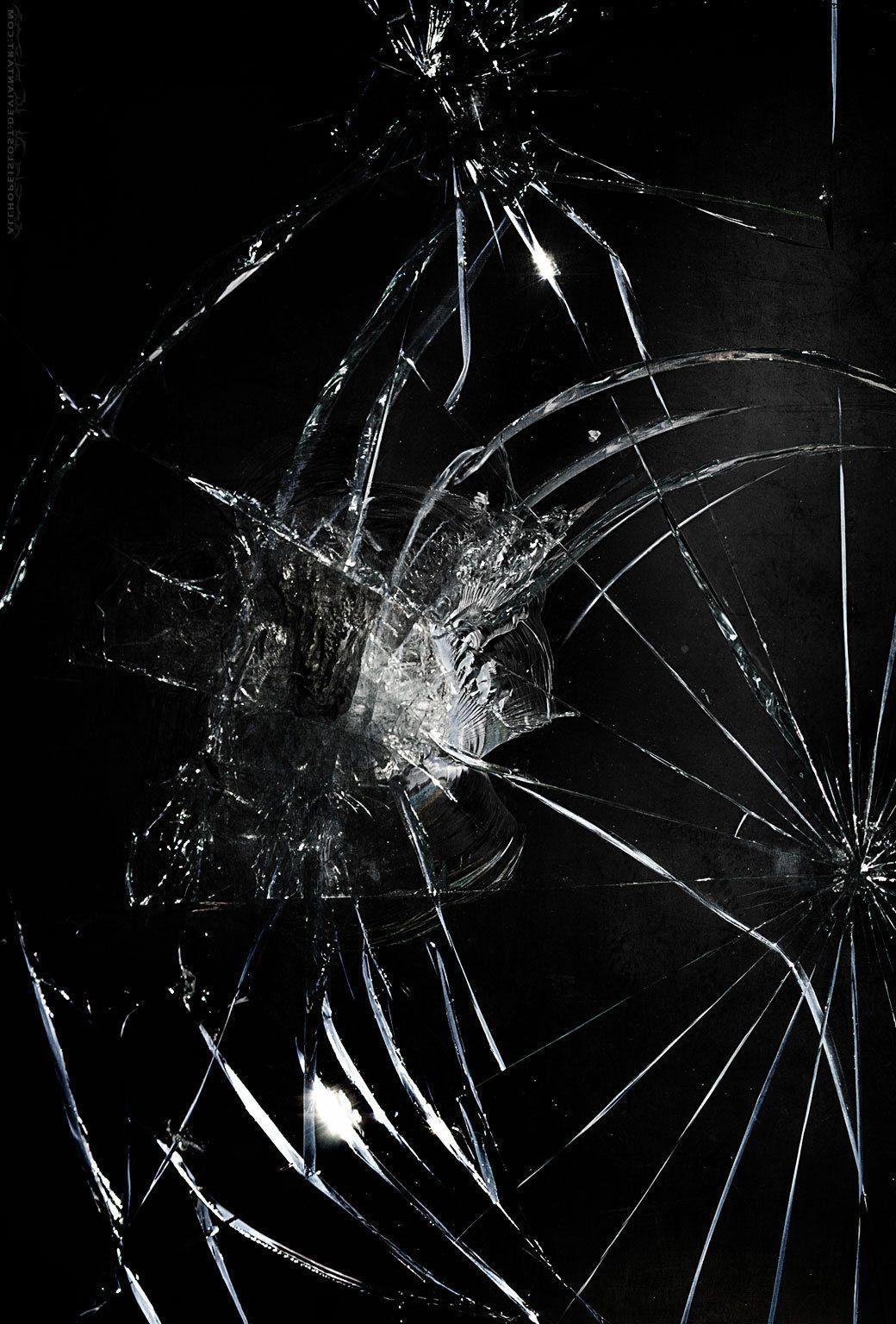 Iphone 11 Cracked Screen Wallpaper