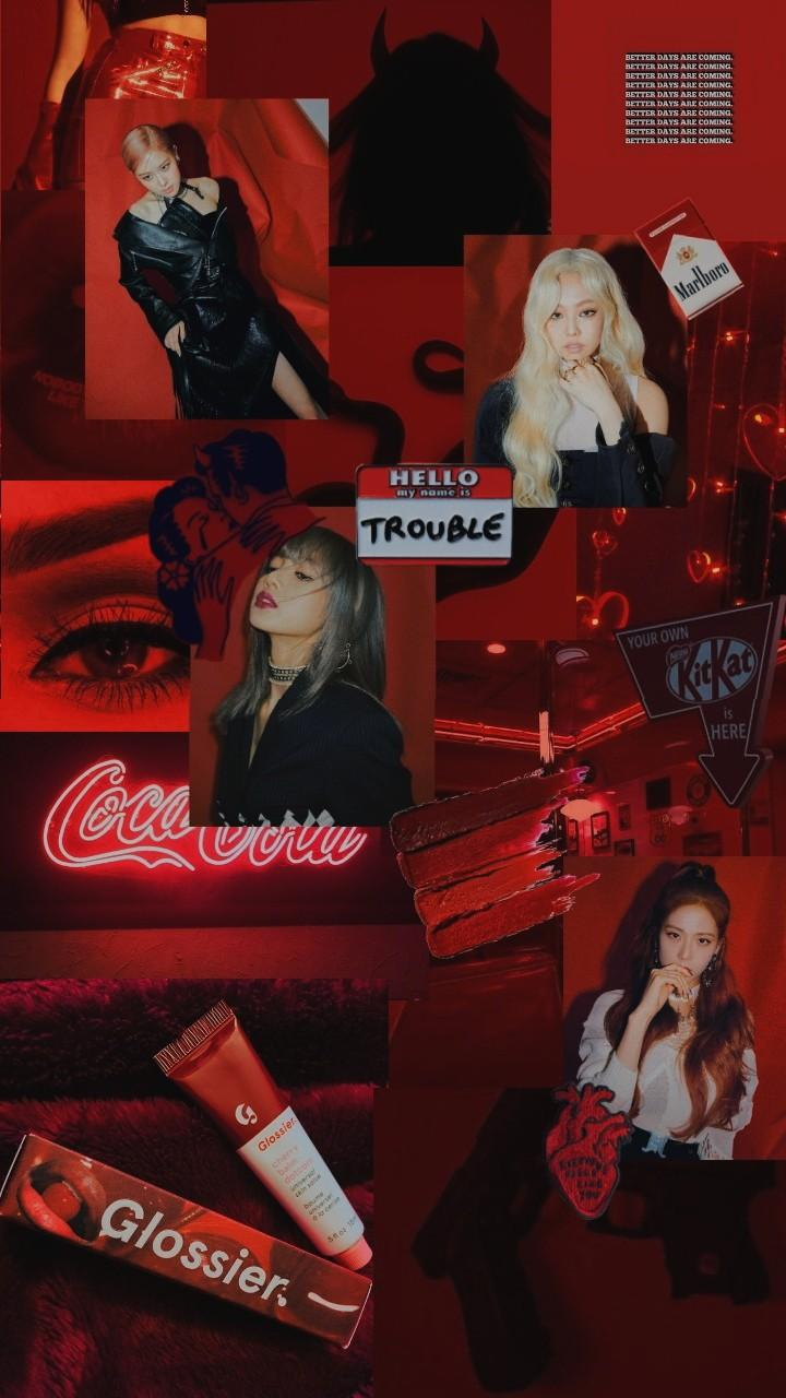 Blackpink Aesthetic Wallpaper Rose Blackpink Reborn 2020