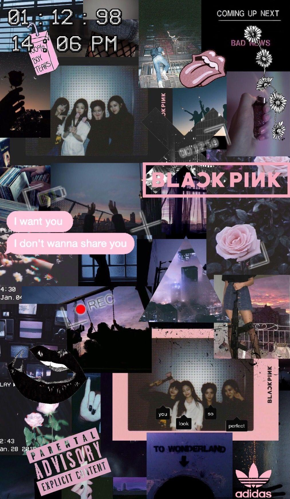 blackpink aesthetic phone wallpapers
