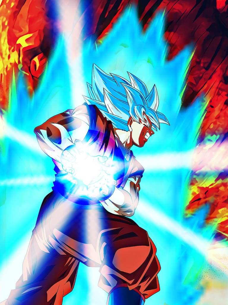 Goku SSBKK Phone Wallpapers