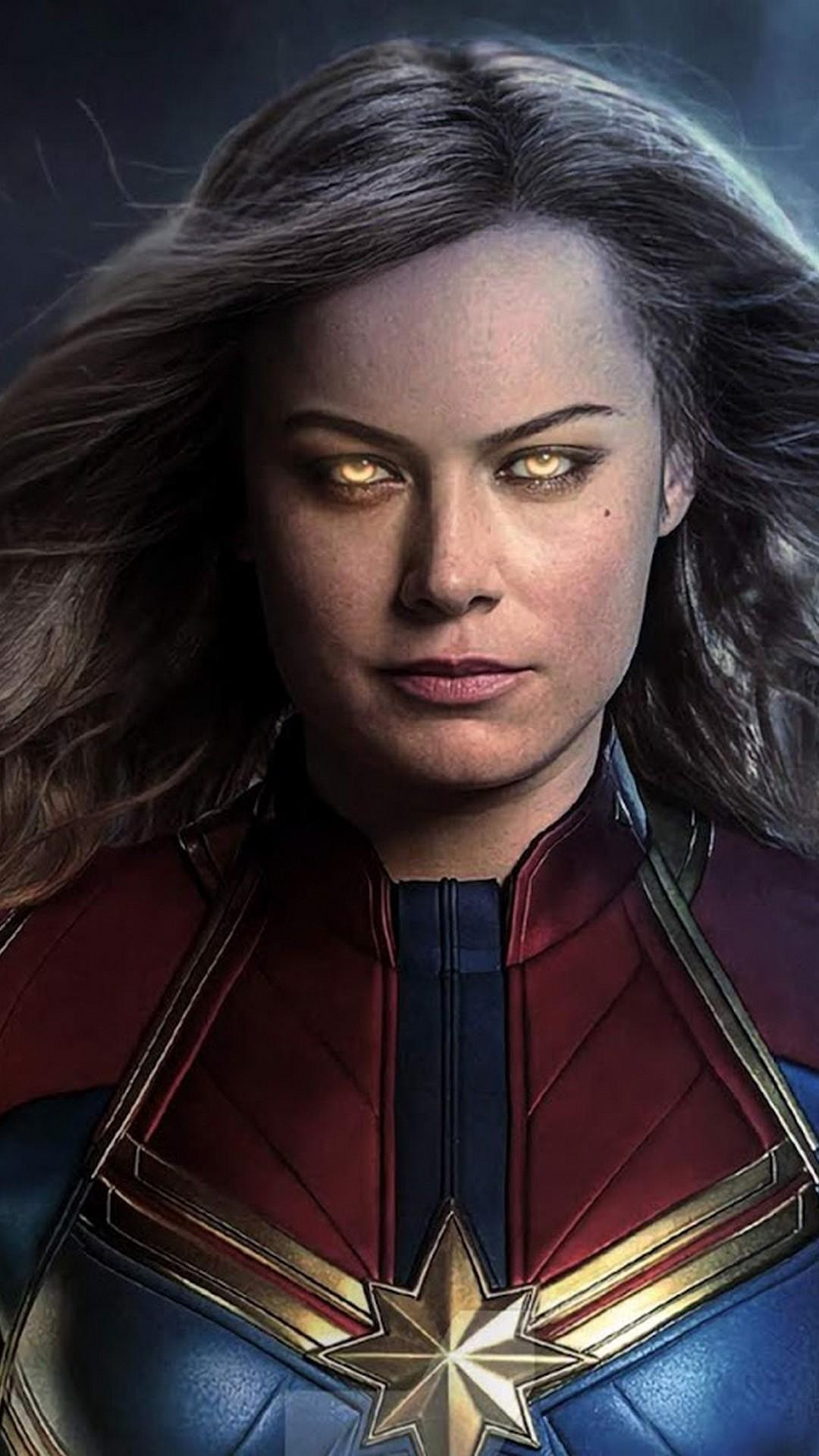 Iphone Captain Marvel Wallpapers Wallpaper Cave