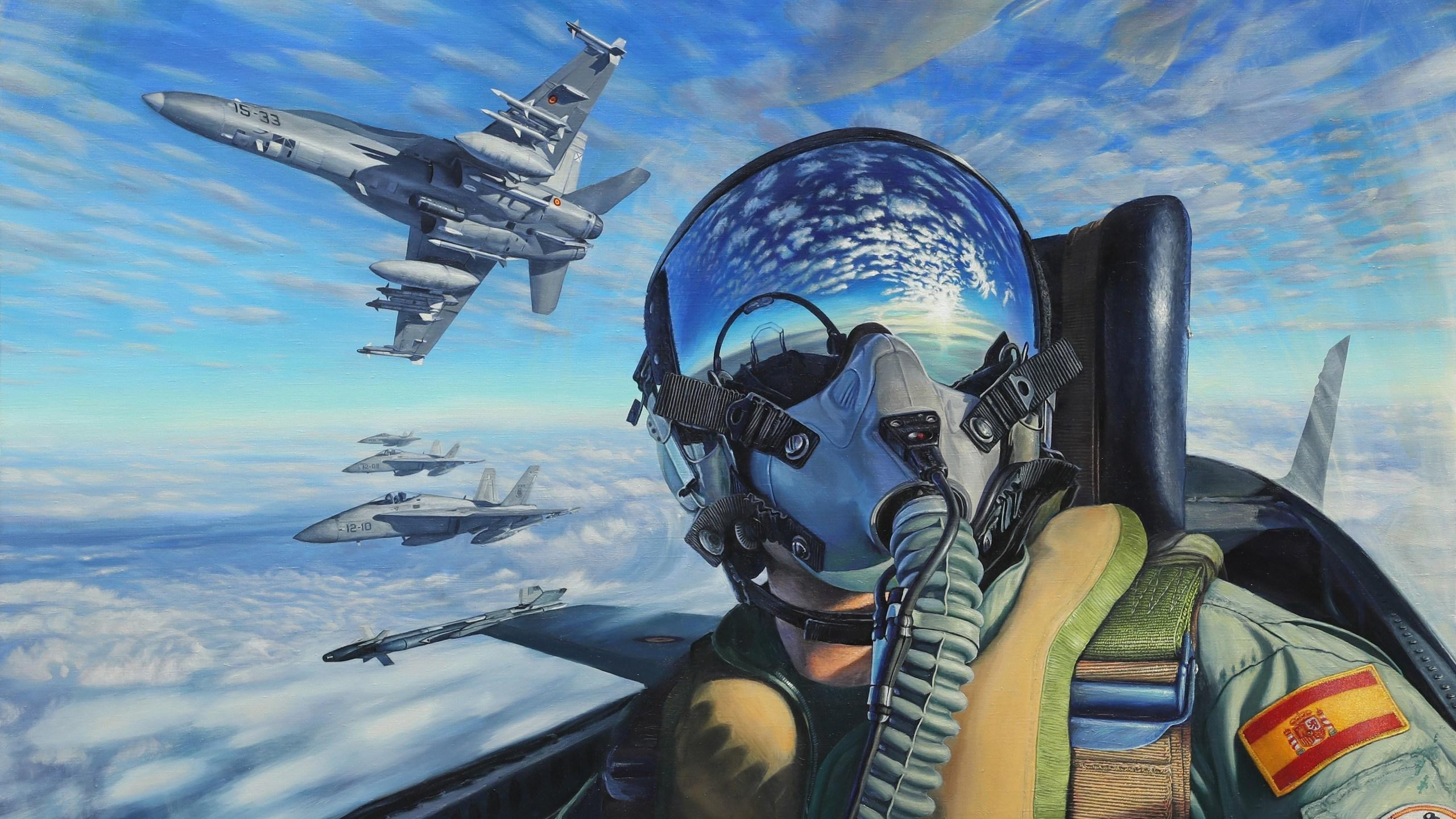 Fighter Pilot Wallpapers Wallpaper Cave