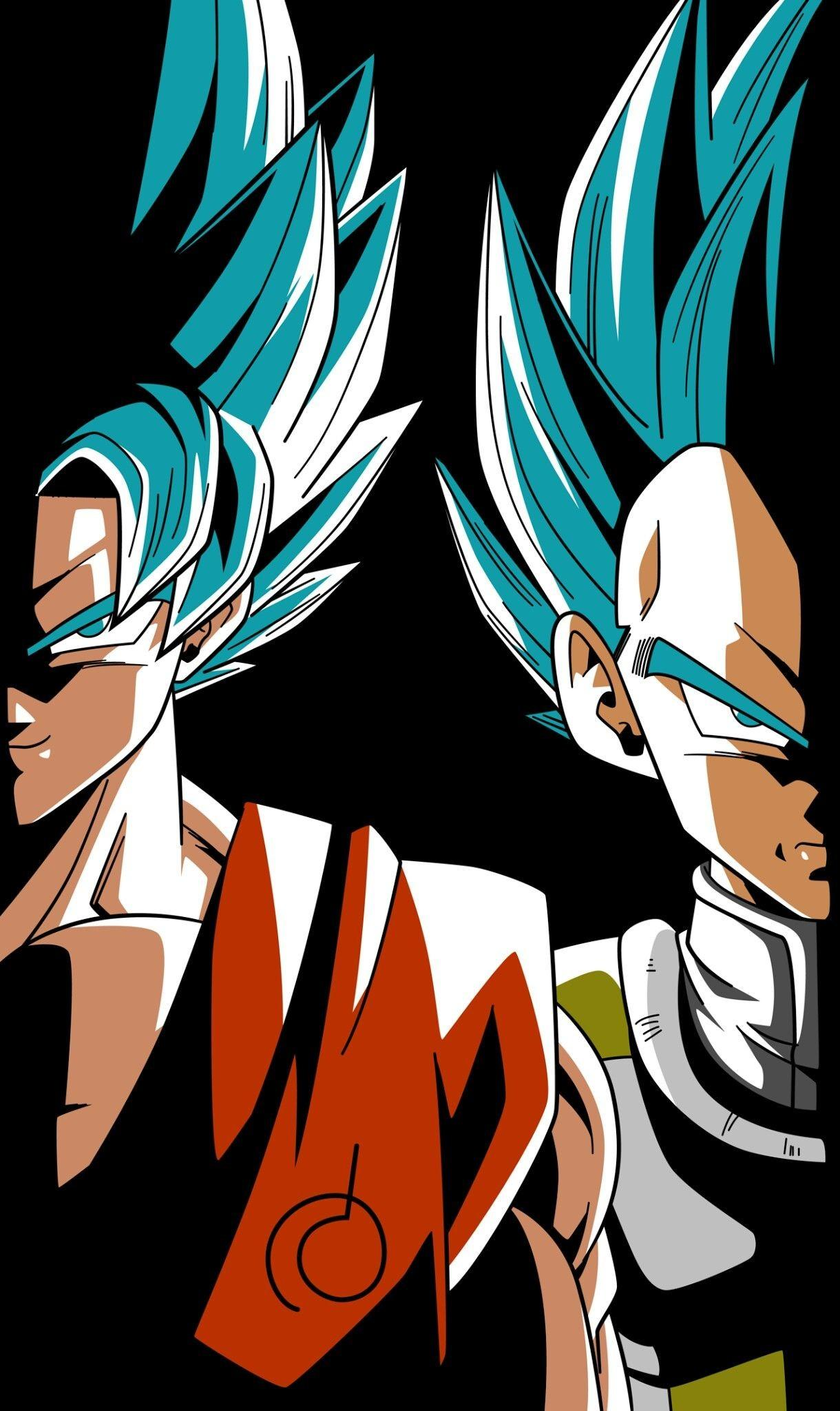 Goku And Vegeta Android Wallpapers Wallpaper Cave