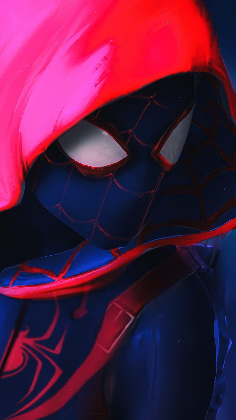 Into The Spider Verse Full Hd Smartphone Wallpapers Wallpaper Cave