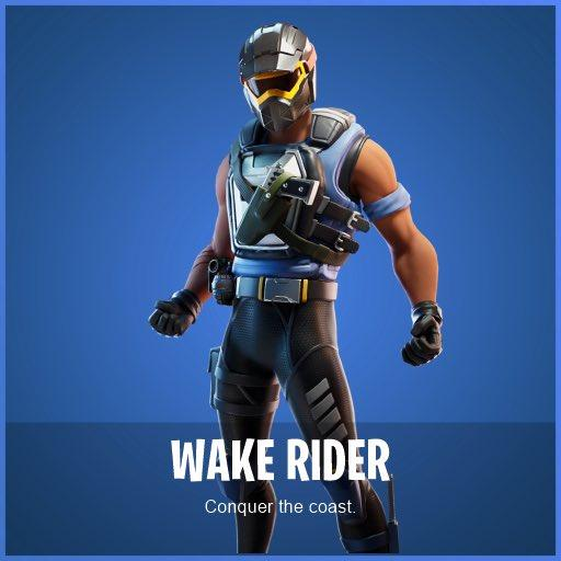 Wake Rider Fortnite wallpapers