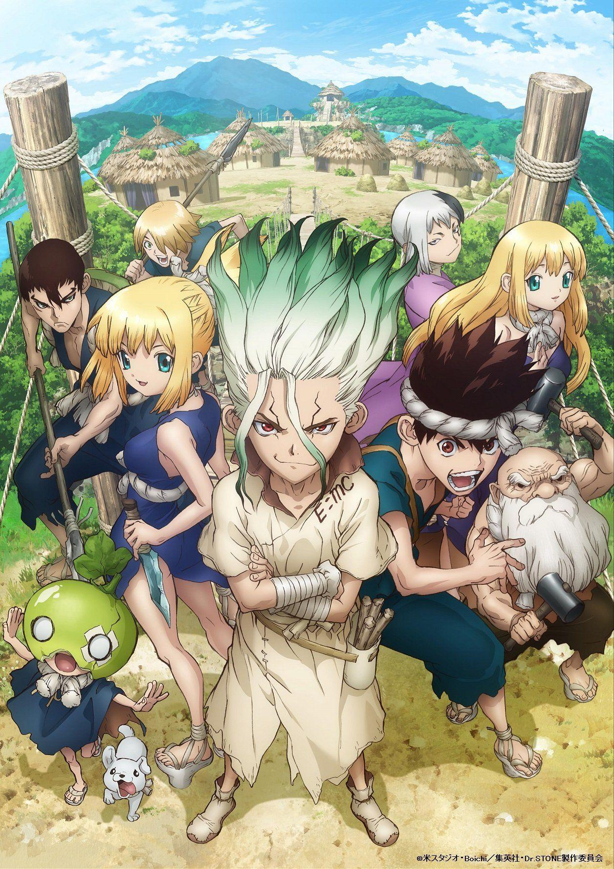 Dr. Stone Hd Anime Wallpapers - Wallpaper Cave