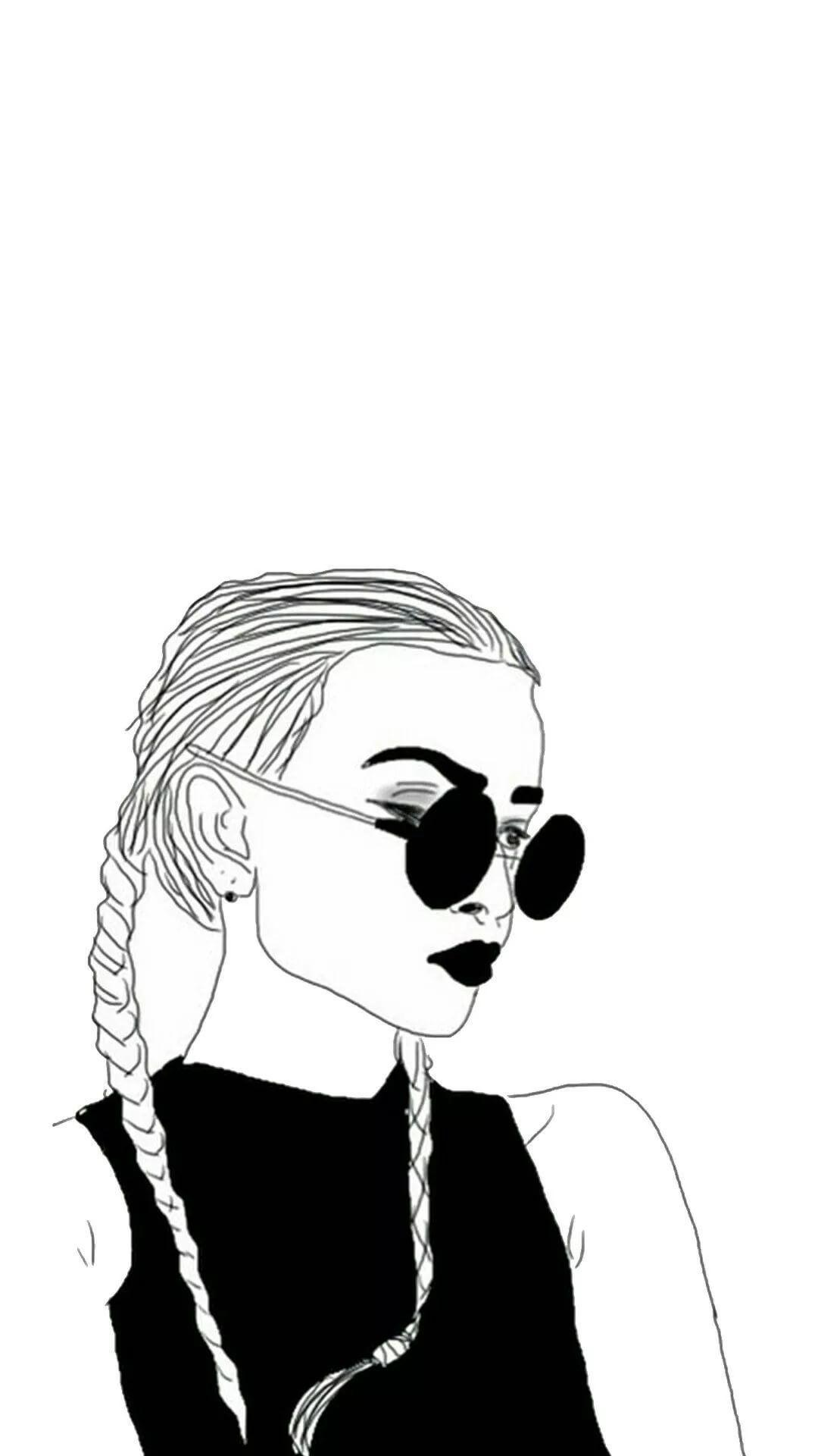 Cute Tumblr Girl Wallpapers Wallpaper Cave