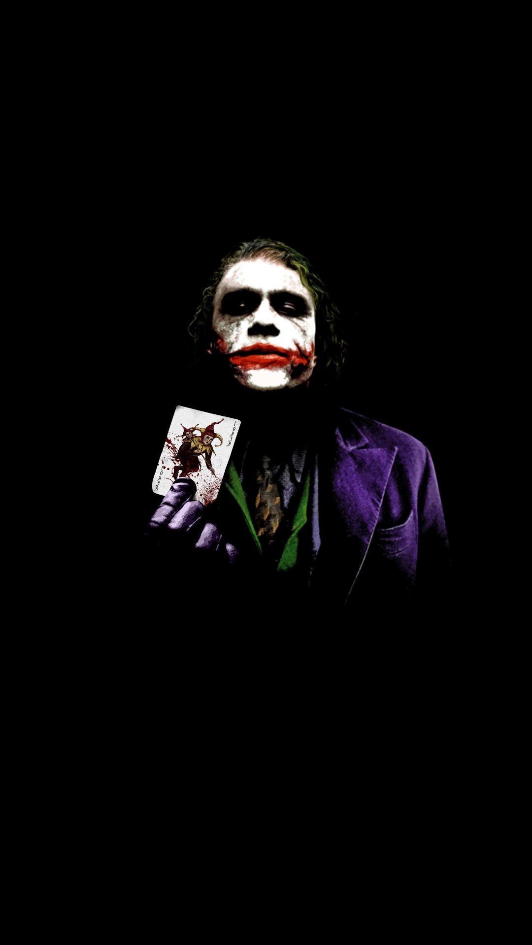 Iphone Dark Joker Wallpapers Wallpaper Cave