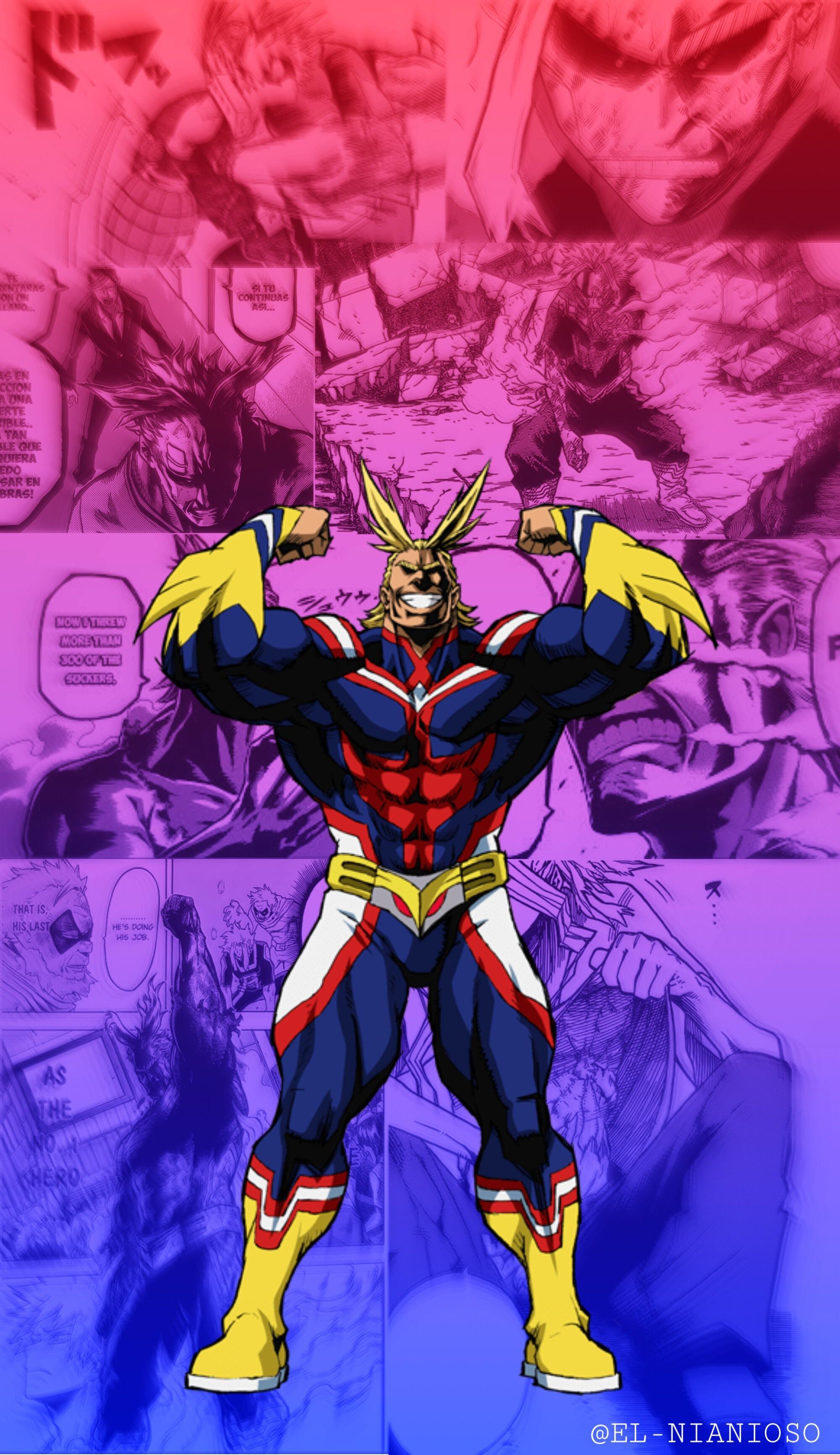 All Might Phone Wallpapers Wallpaper Cave