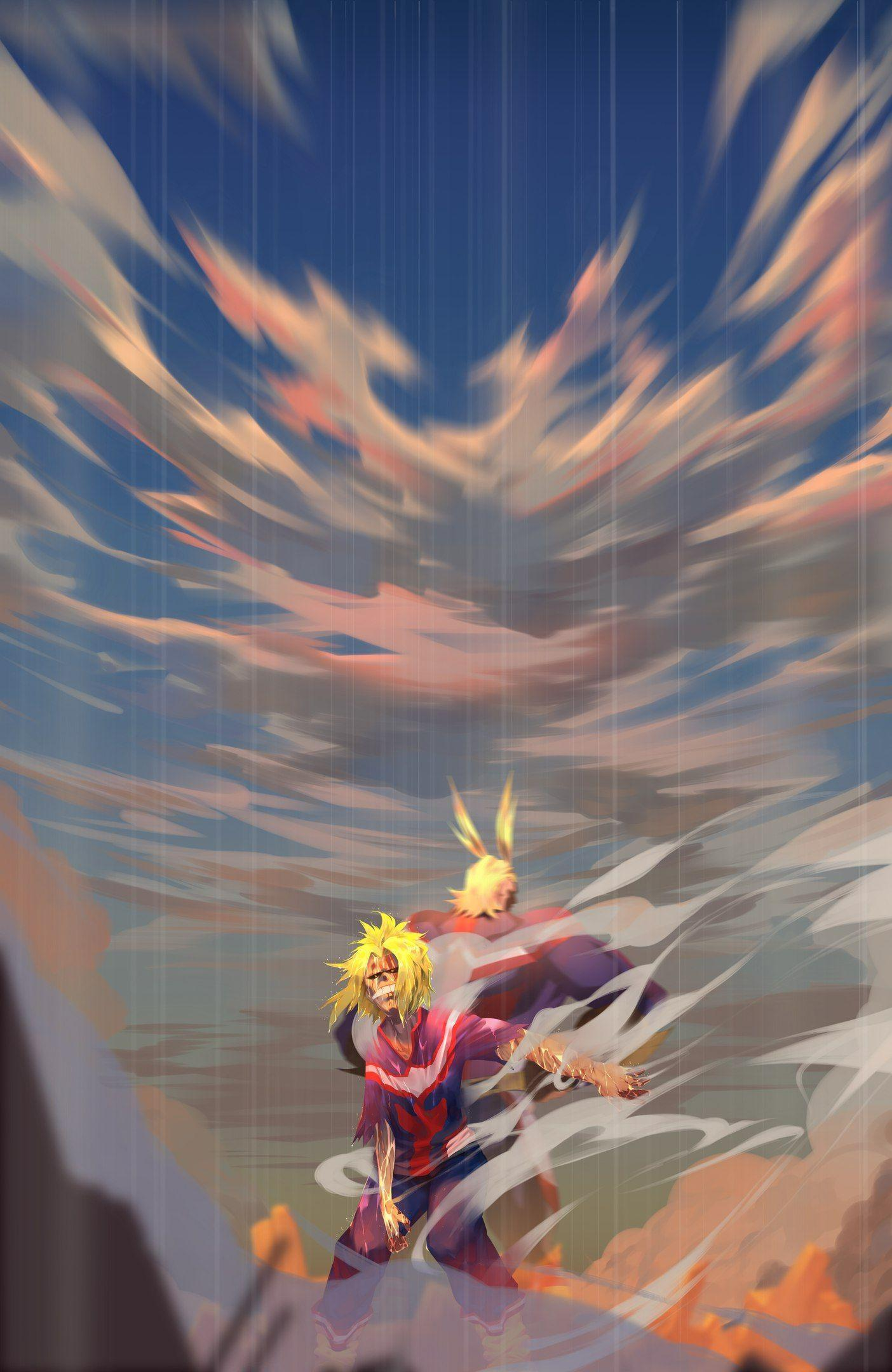 All Might Phone Wallpapers - Wallpaper Cave