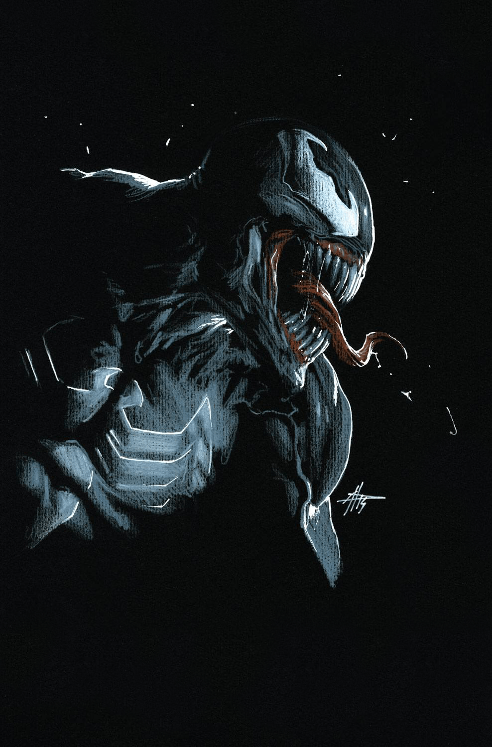 4k Venom Android Wallpapers Wallpaper Cave