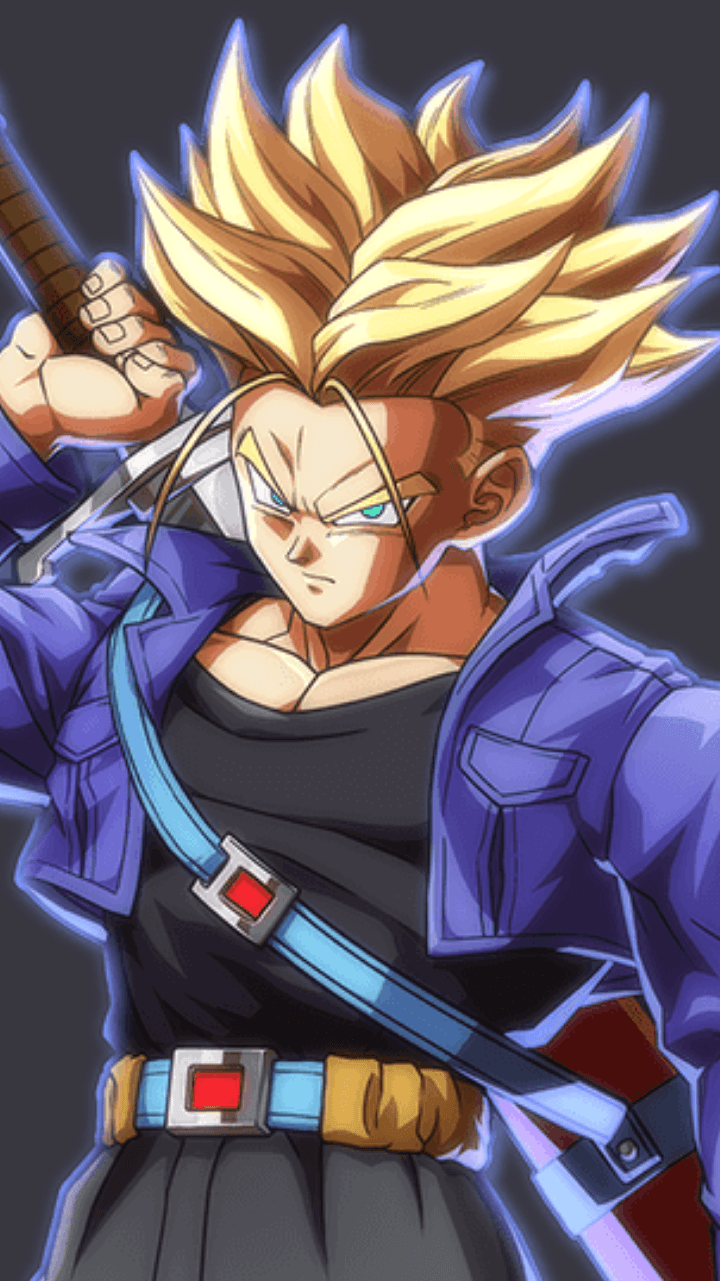 Trunks Dbz Wallpapers Wallpaper Cave